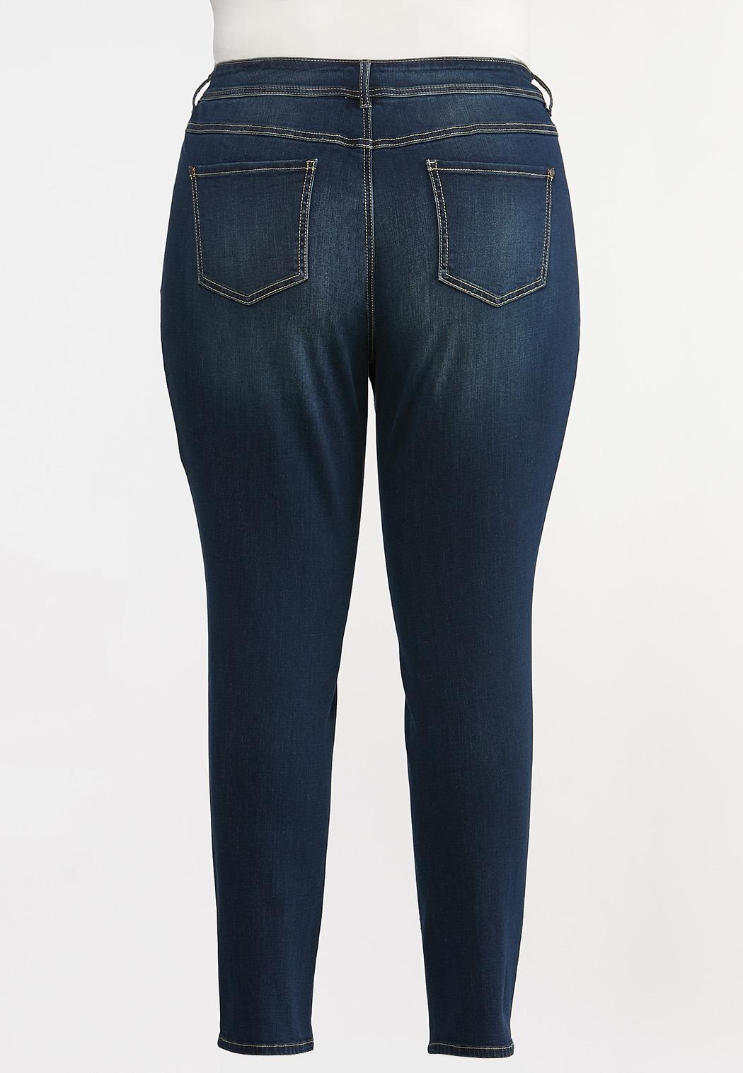 Plus Size Curvy Skinny Jeans (Item #44333531)