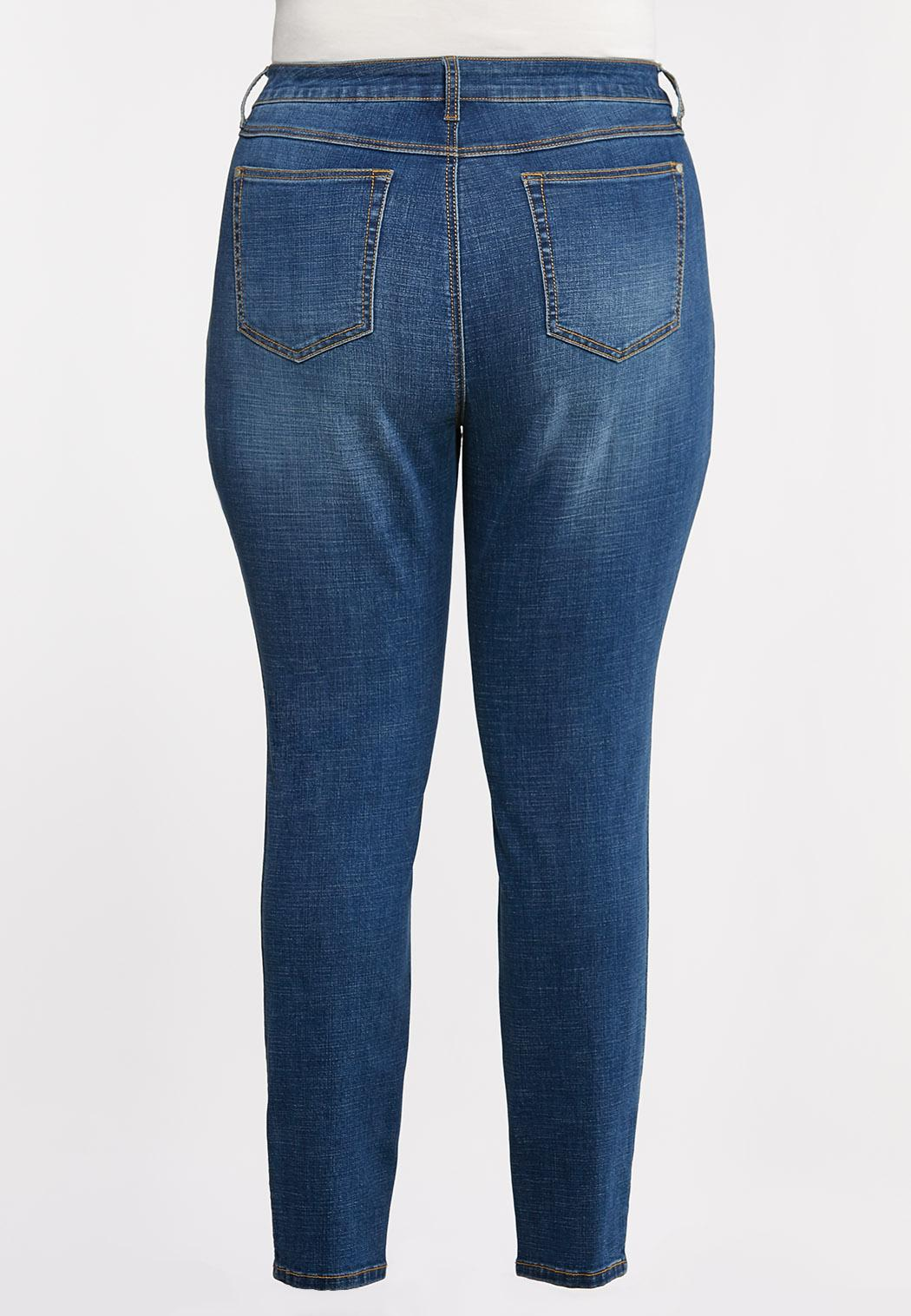 Plus Size High-Rise Skinny Jeans (Item #44333610)