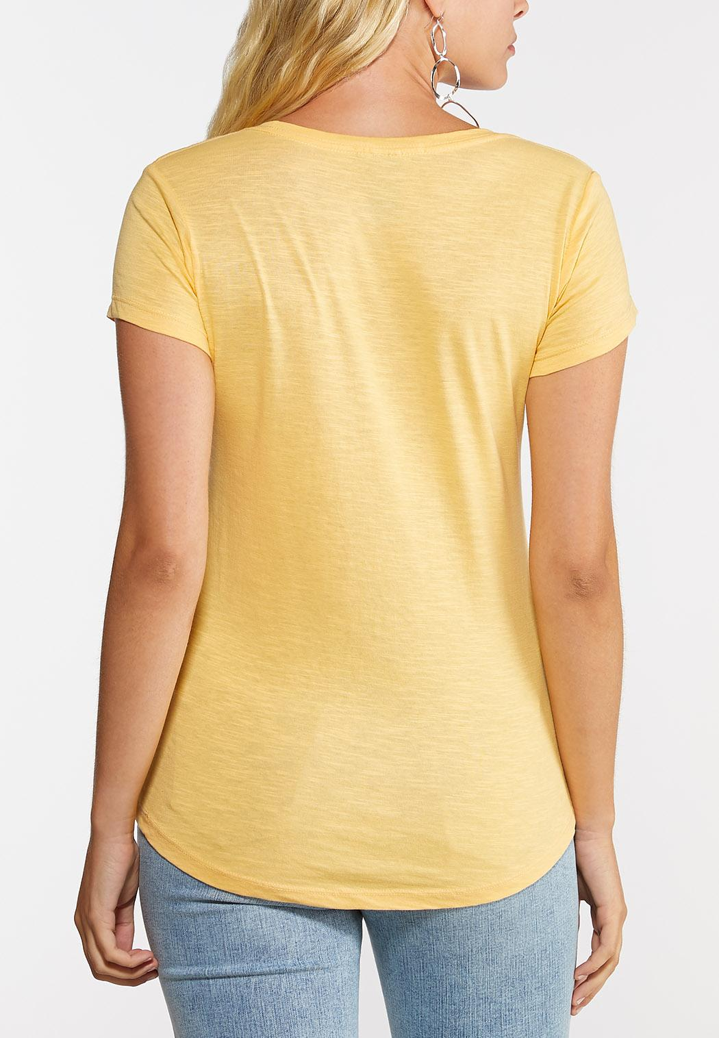 Yellow Blessed Tee (Item #44335341)