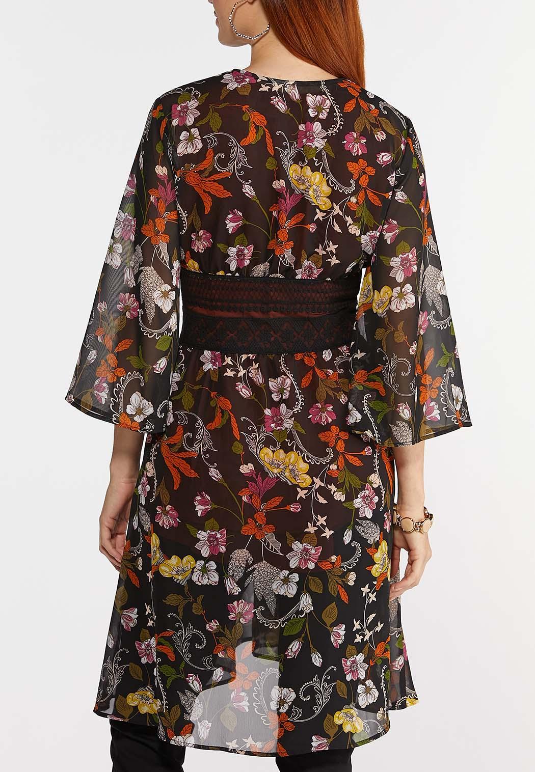 Plus Size Garden Party Kimono (Item #44335648)