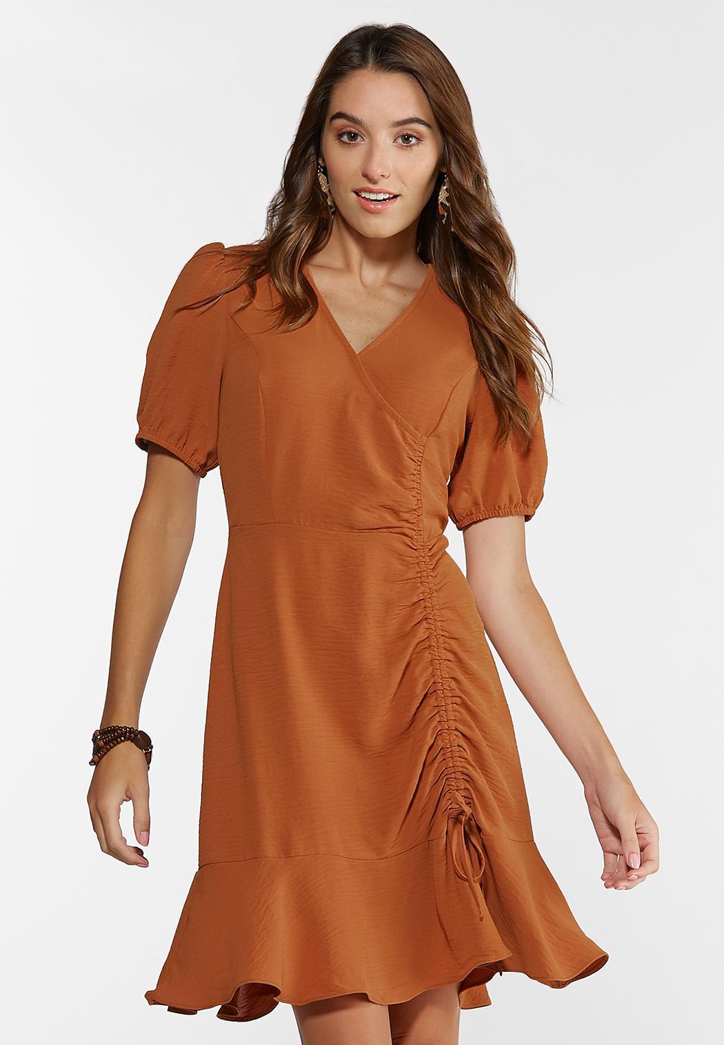 Puff Sleeve Dress (Item #44343178)