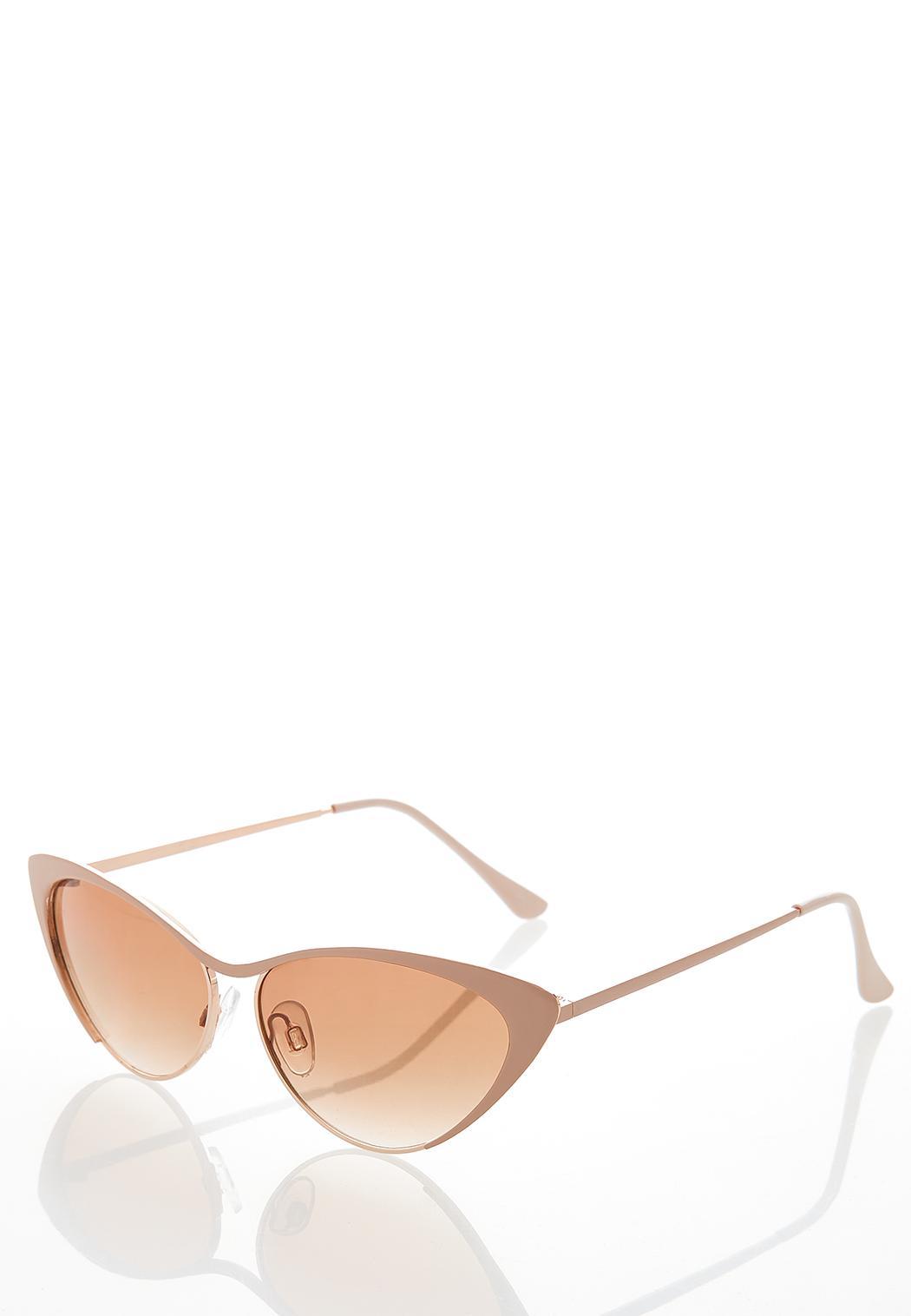 Nude Cateye Sunglasses (Item #44344627)