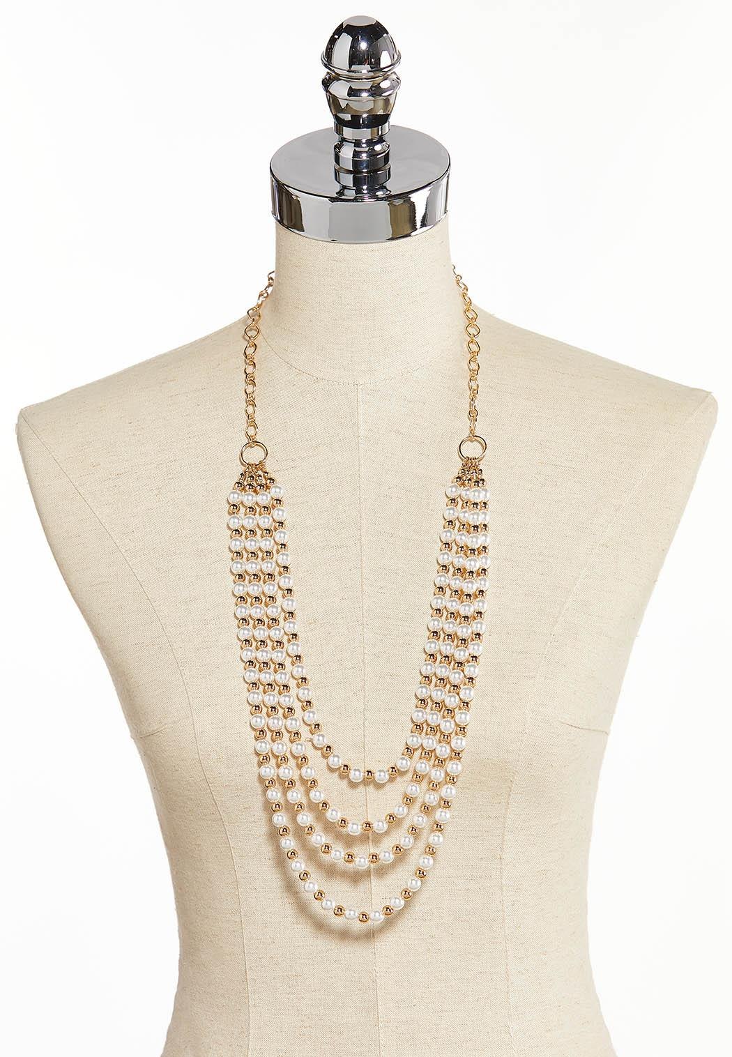 Swag Pearl Necklace (Item #44344732)