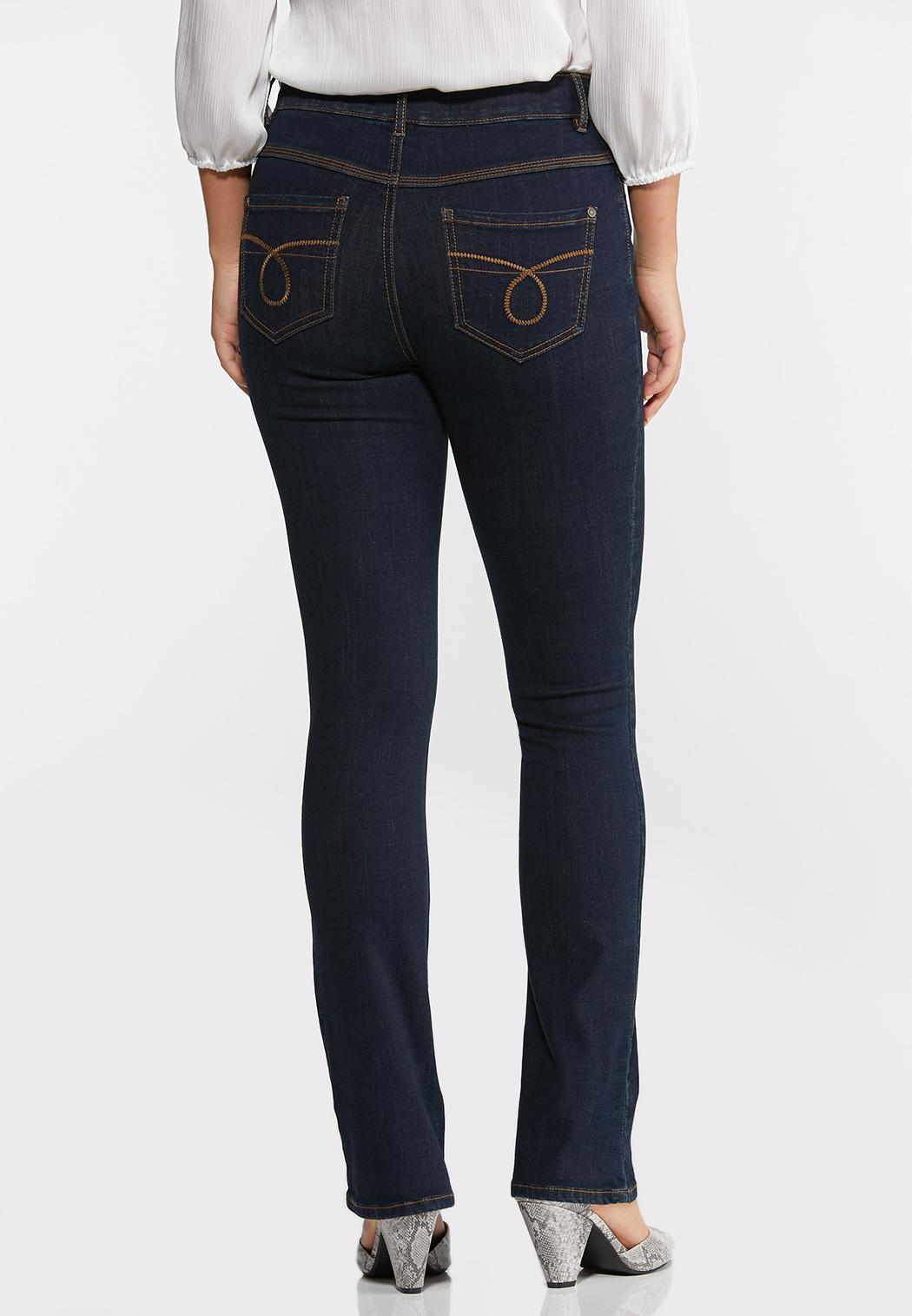 High-Rise Bootcut Jeans (Item #44345382)