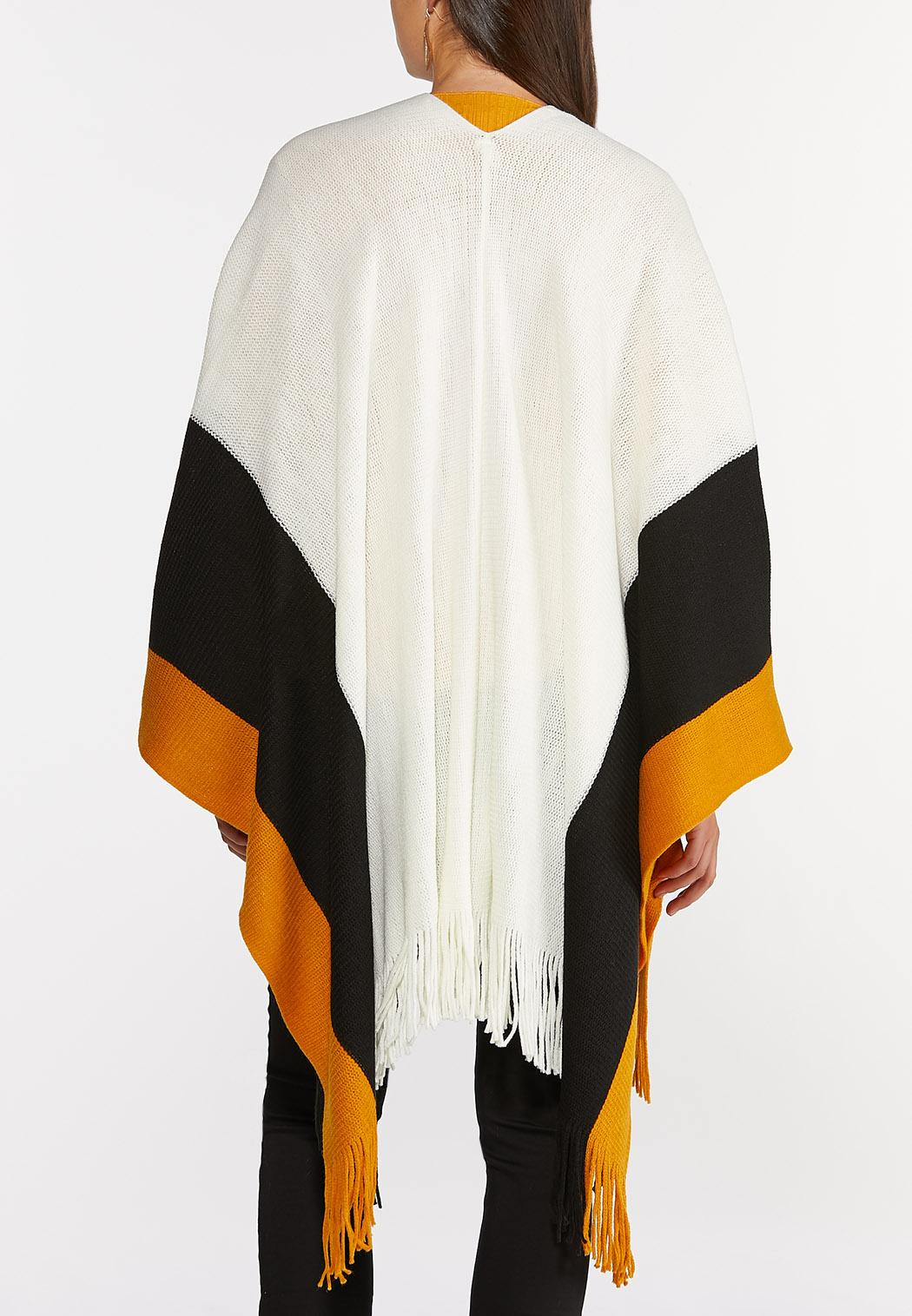 Colorblock Sweater Wrap (Item #44347424)