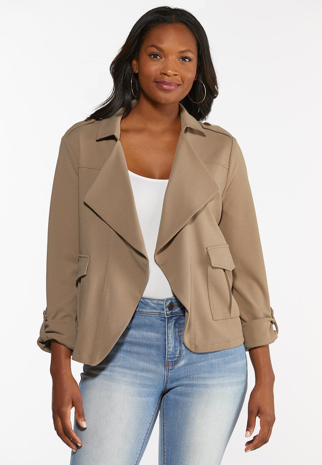 Tan Utility Jacket (Item #44348320)