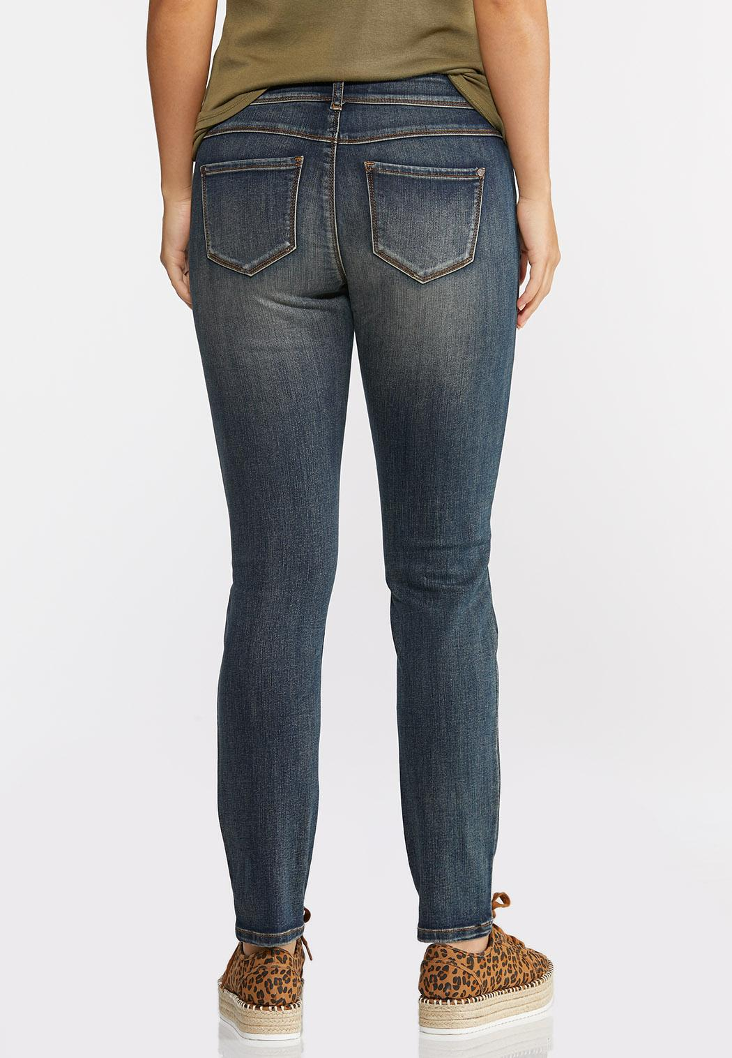Mid-Rise Skinny Jeans (Item #44348321)