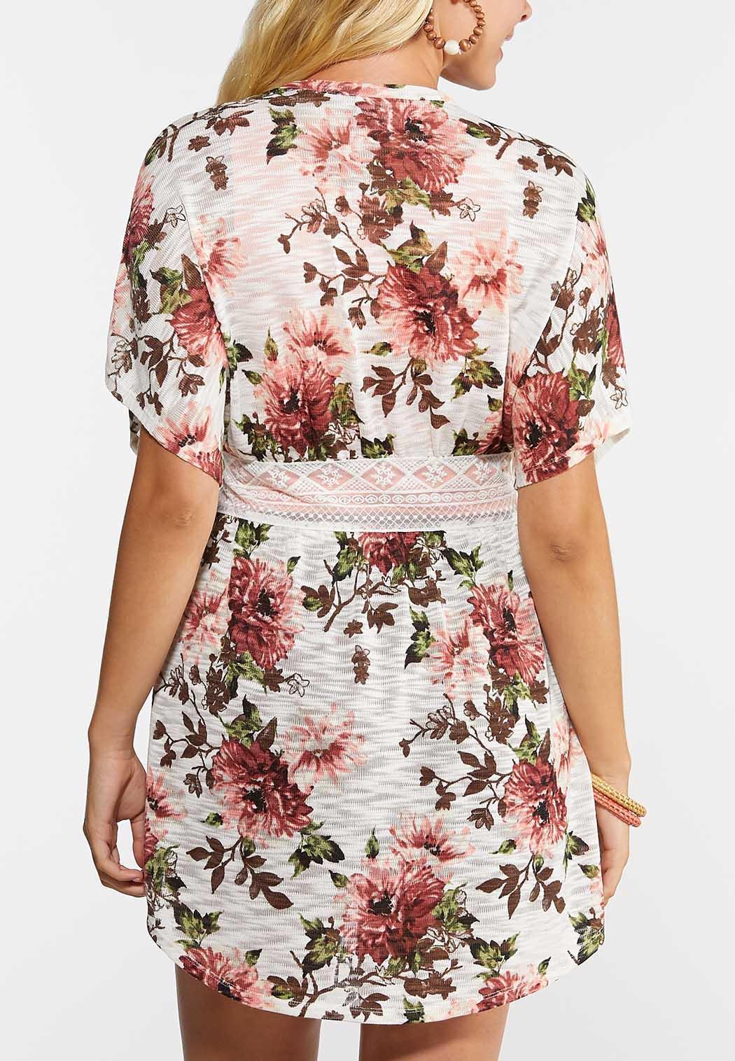 Lacy Floral Cardigan (Item #44348406)