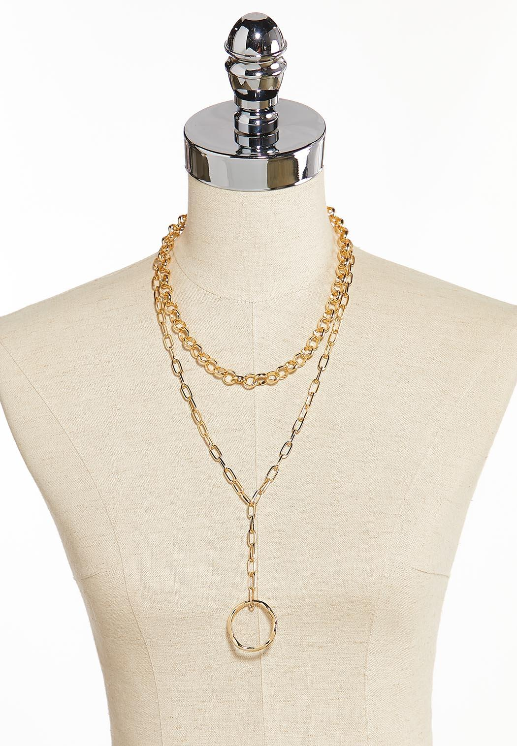 Chunky Chain Y-Necklace (Item #44349940)