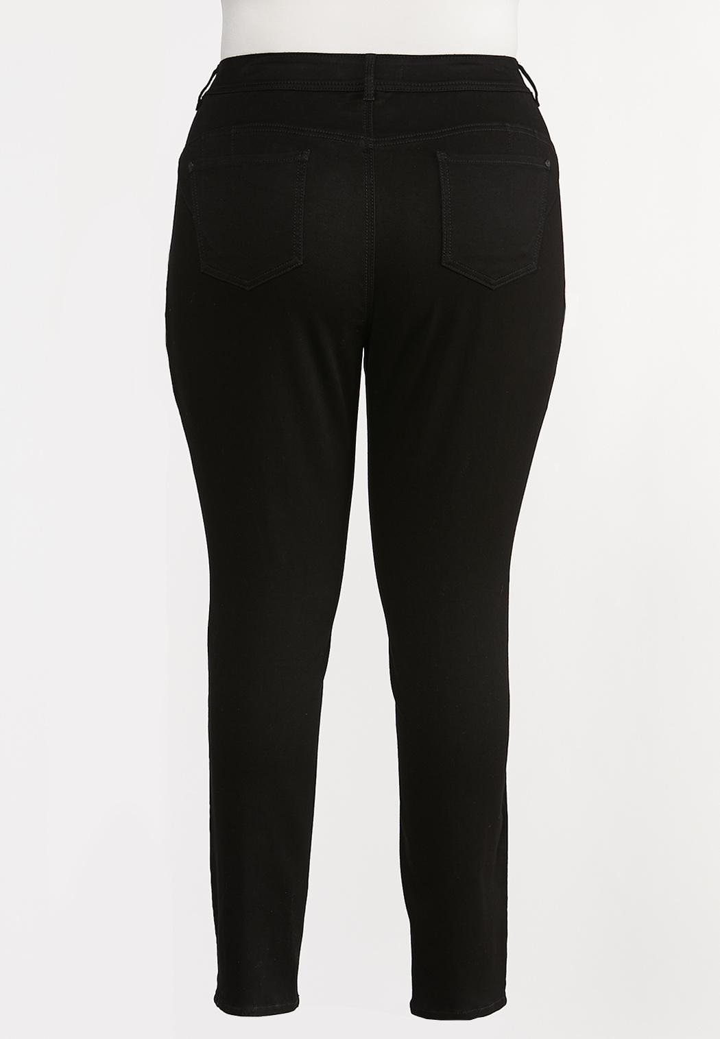 Plus Size The Perfect Black Jeggings (Item #44350571)
