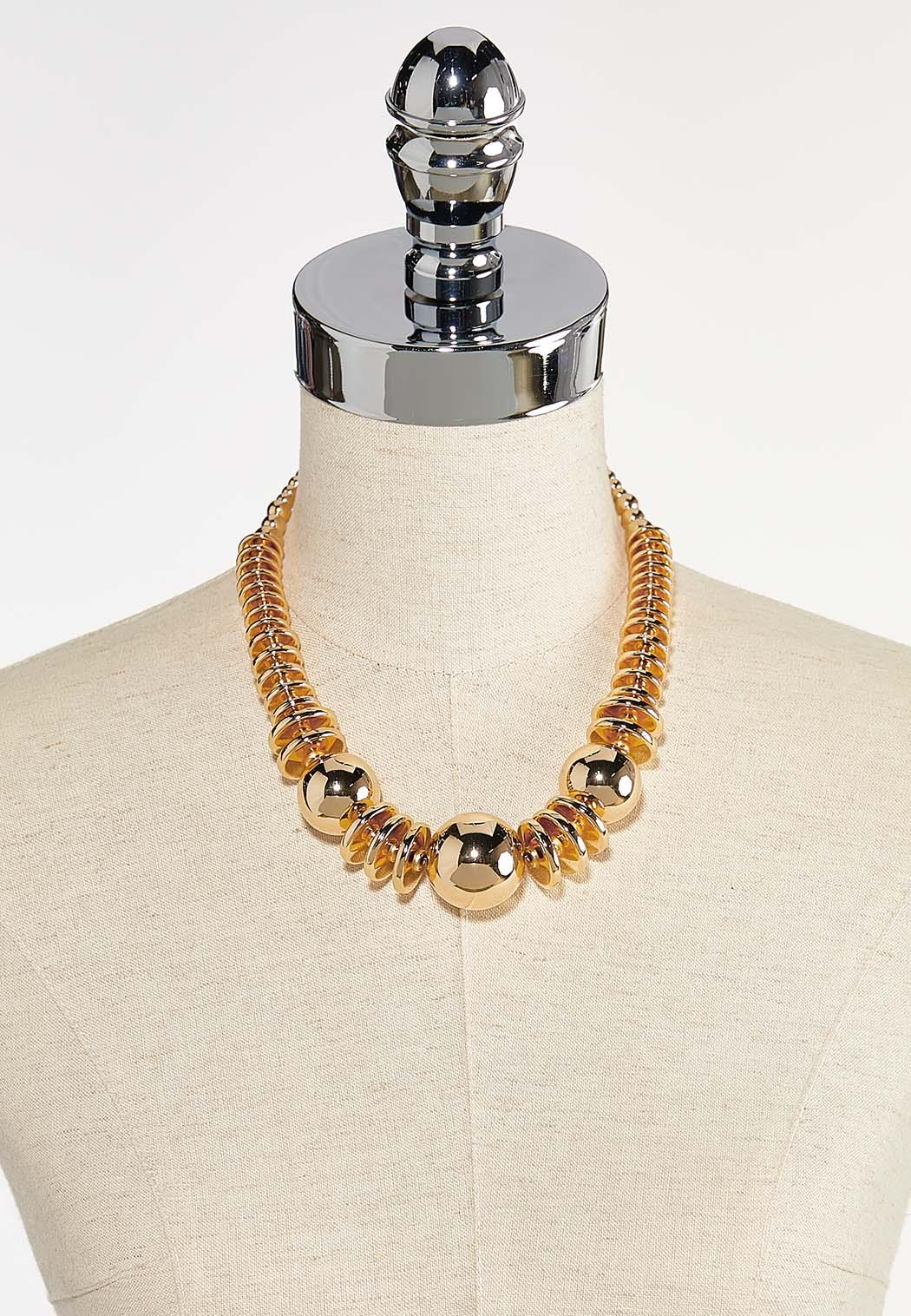 Chunky Gold Necklace (Item #44351356)