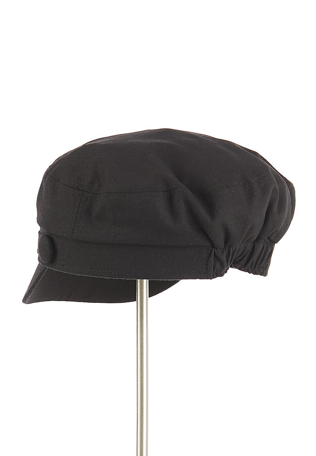 Solid Linen Cabbie Hat (Item #44352180)