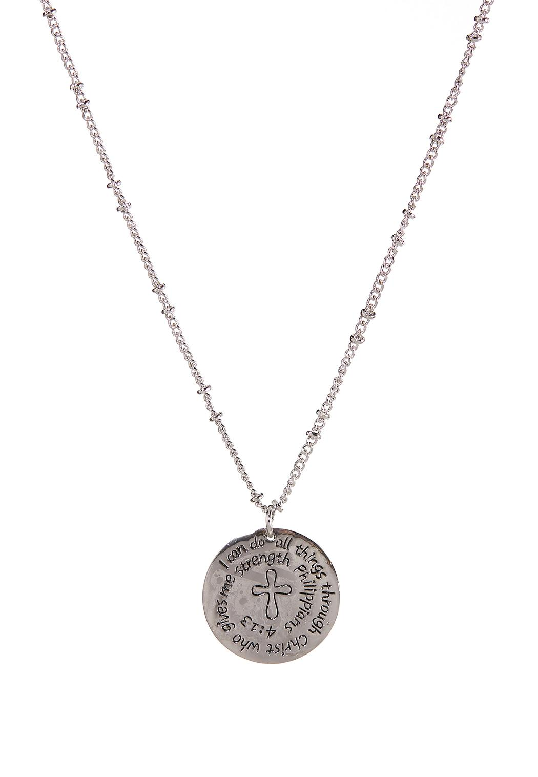 Layered Inspirational Necklace (Item #44352453)