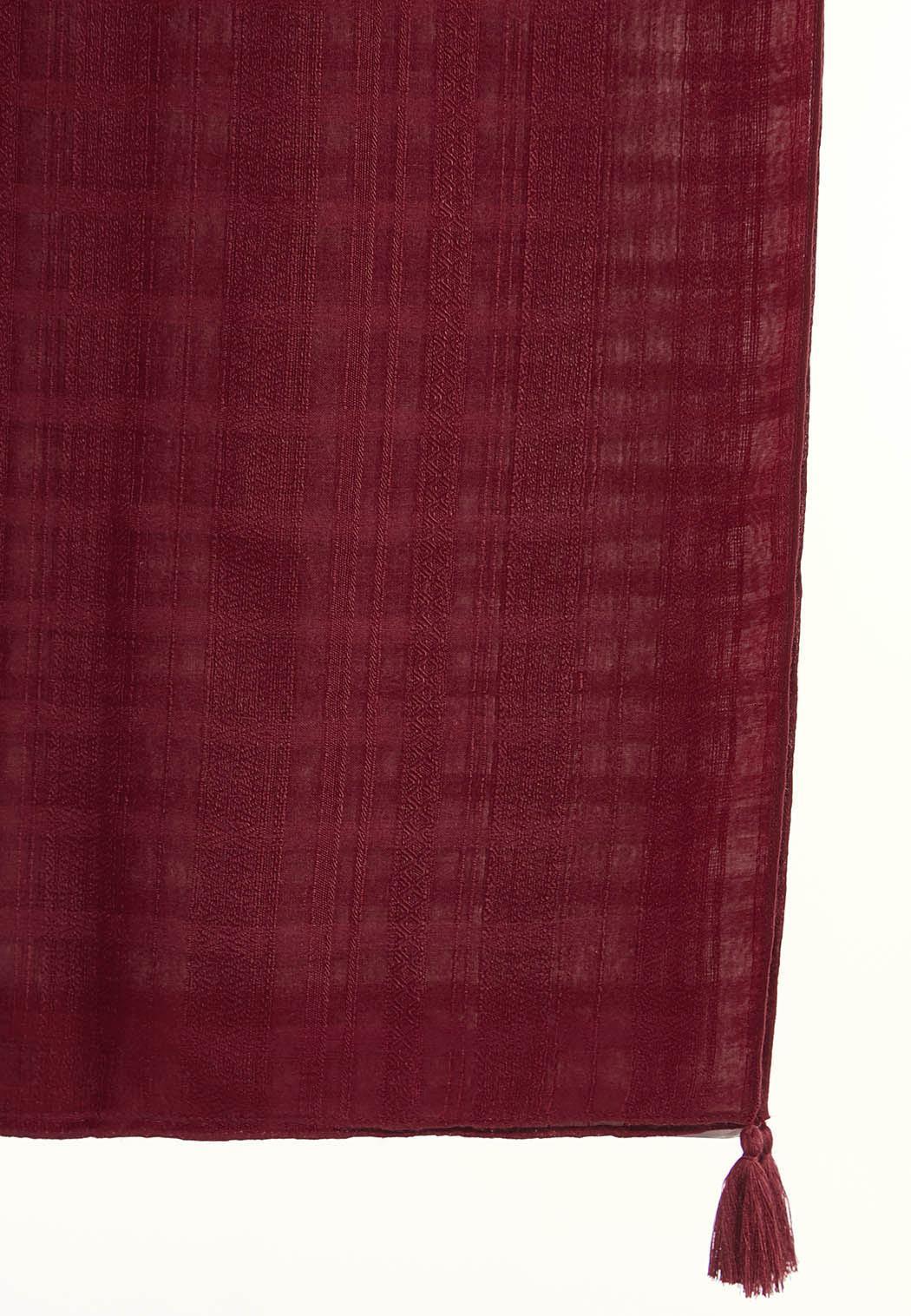 Tasseled Oblong Scarf (Item #44353512)