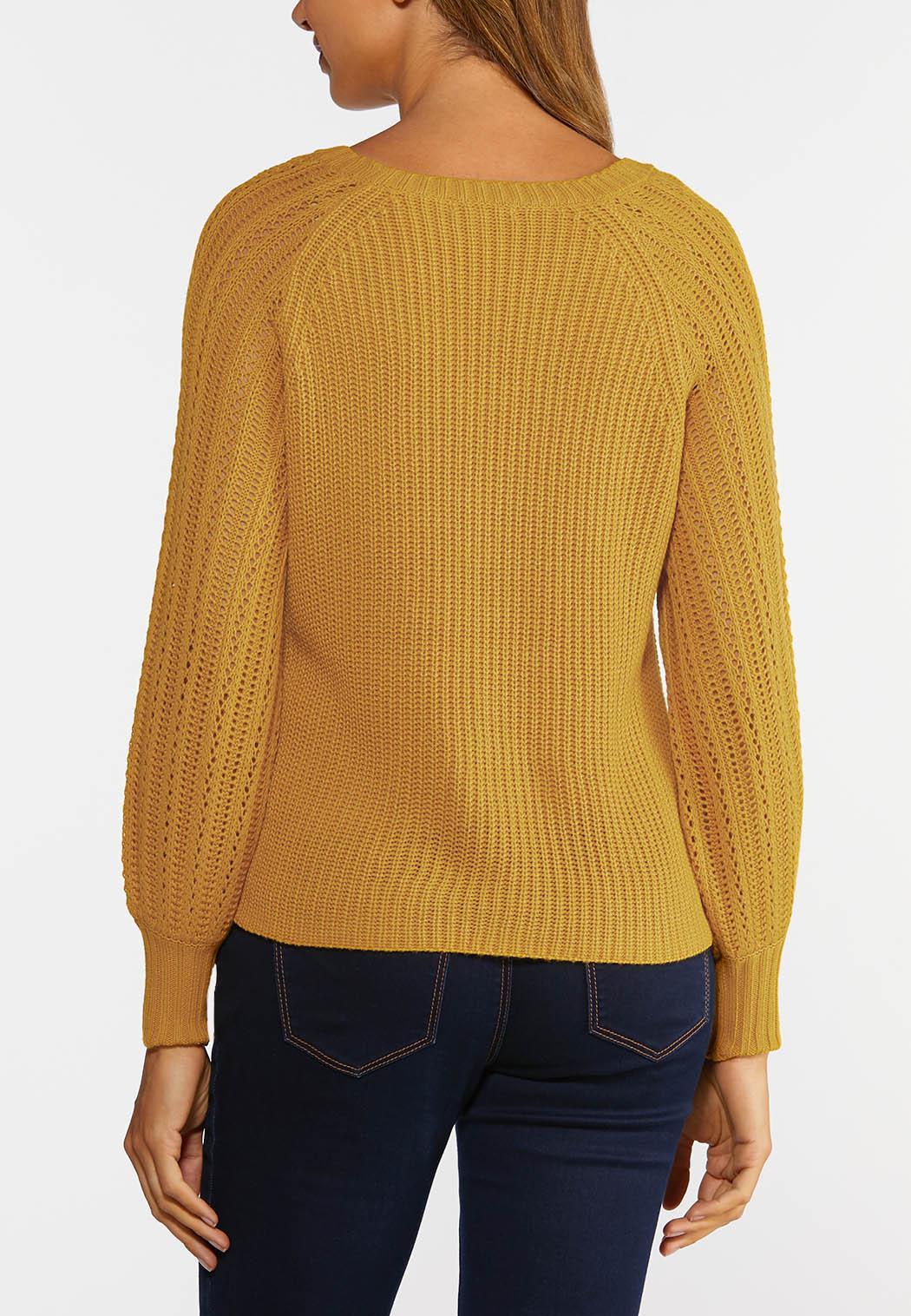 Plus Size Honey Pullover Sweater (Item #44357649)