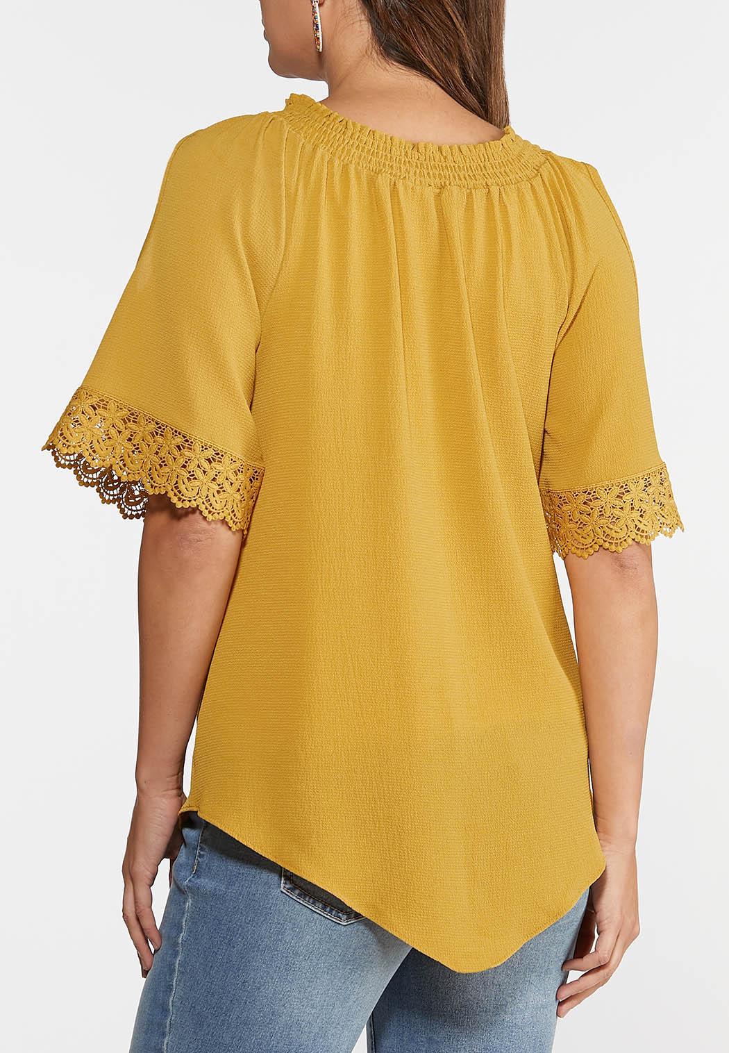 Plus Size Honey Cold Shoulder Top (Item #44357840)