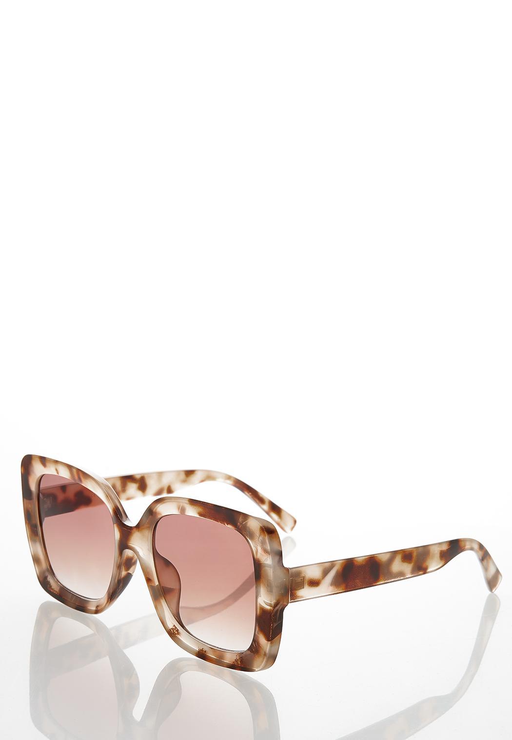 Oversized Tort Sunglasses (Item #44363046)