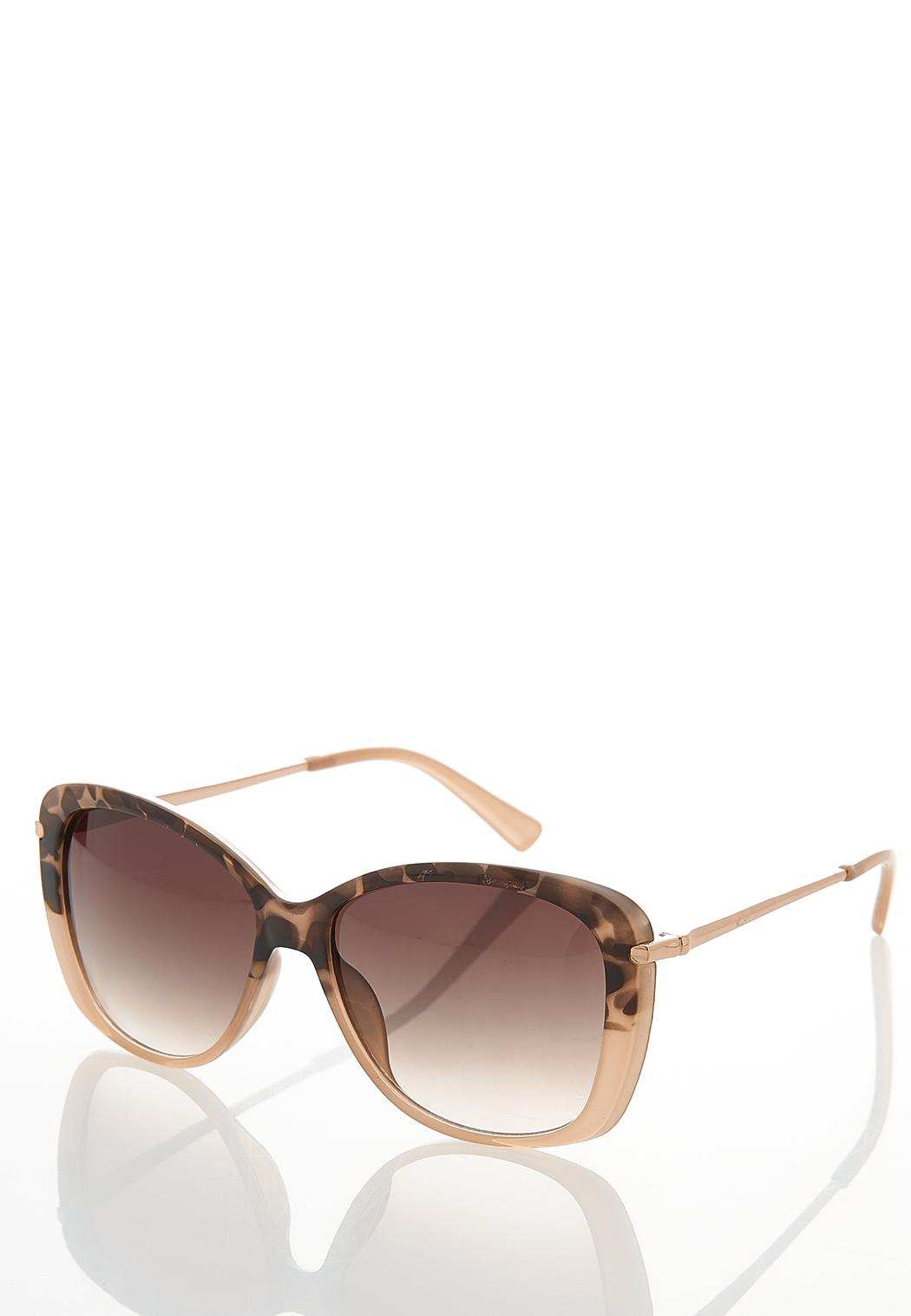 Blush Leopard Tortoise Sunglasses (Item #44363055)