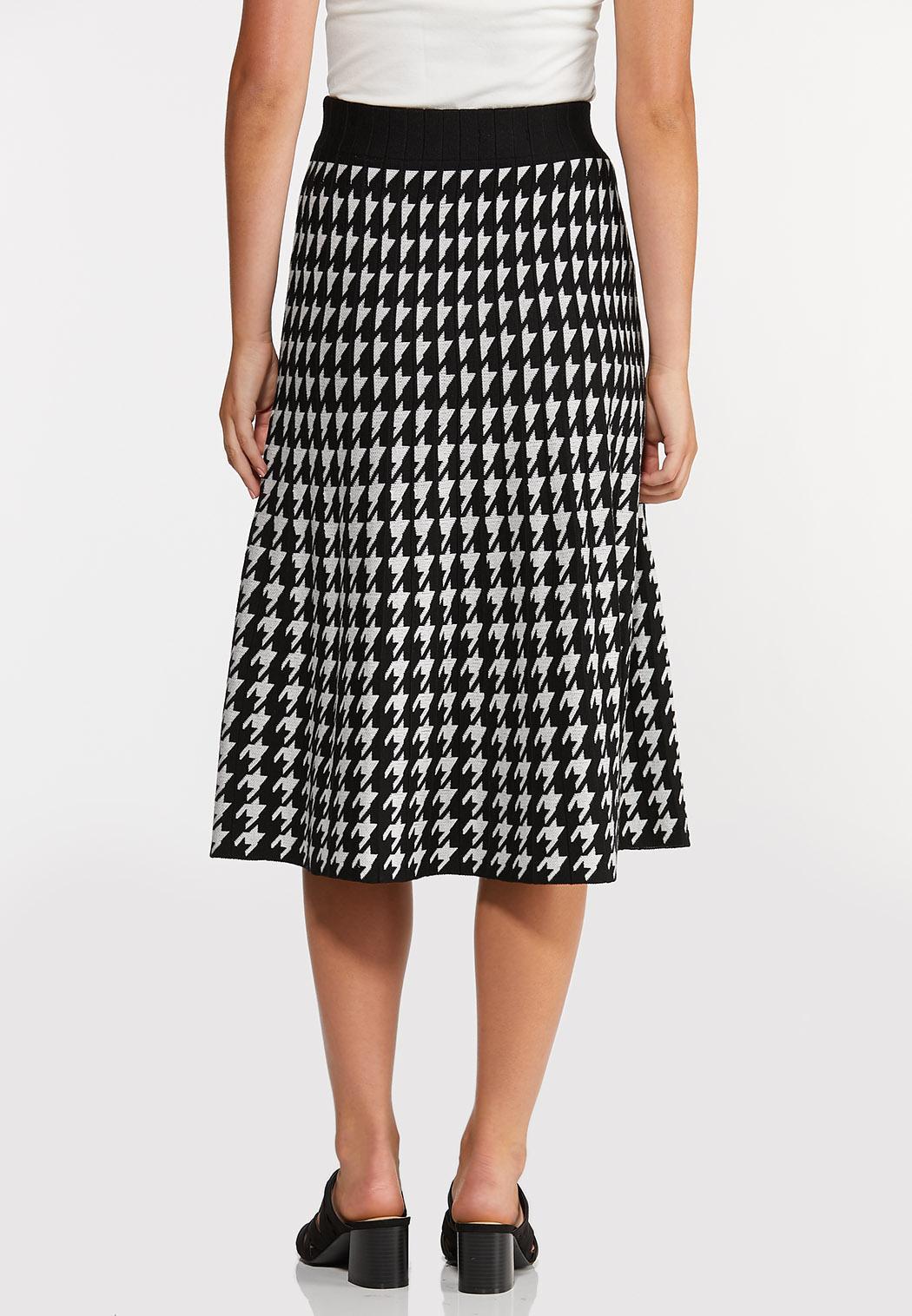 Houndstooth Sweater Skirt (Item #44369219)