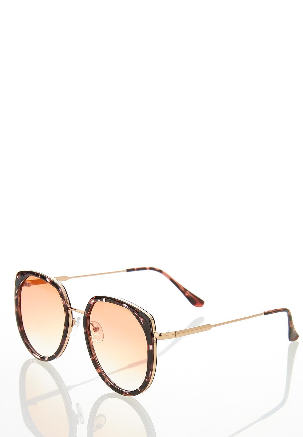 Tortoise Trim Sunglasses (Item #44369513)
