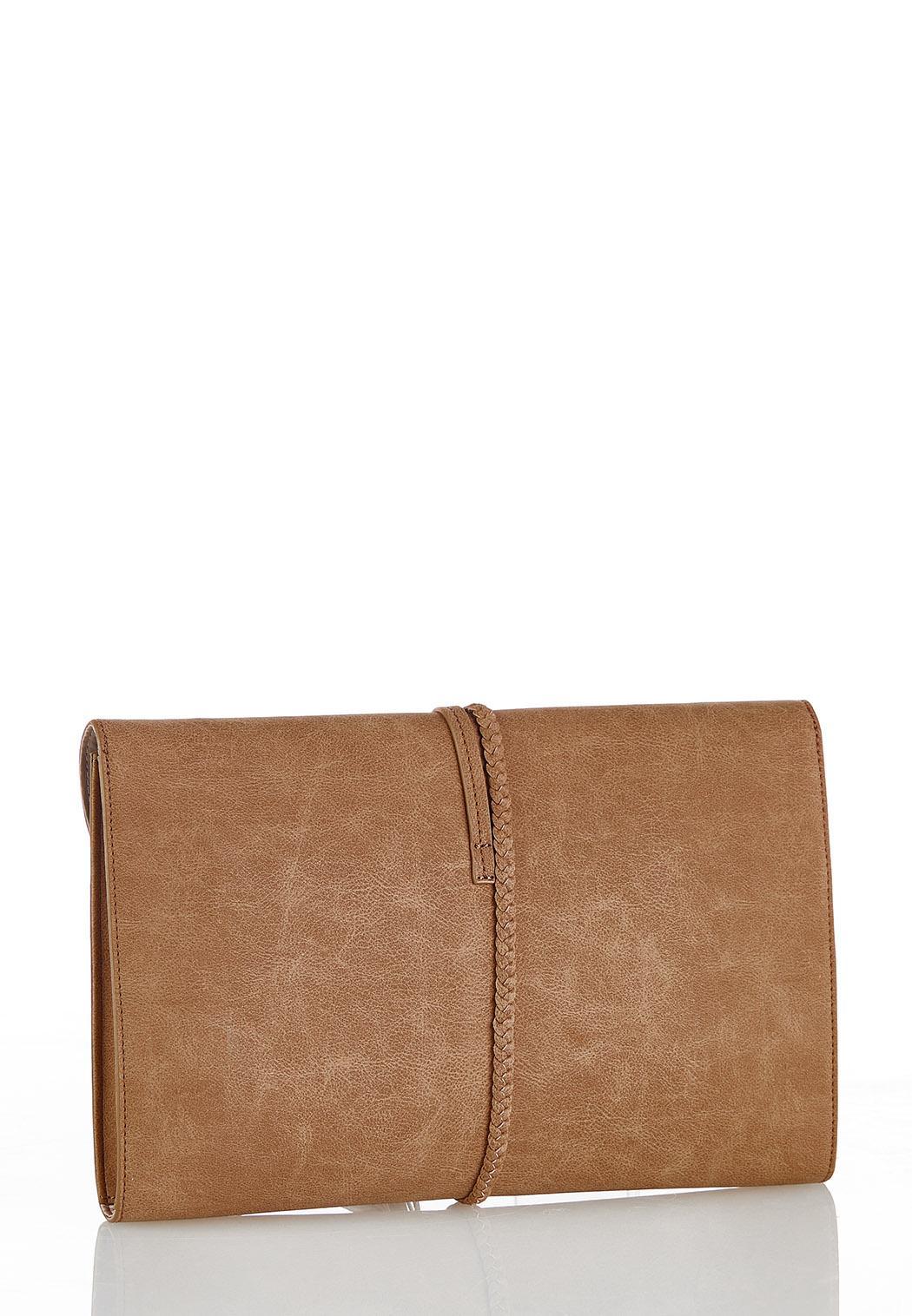Braid Strap Tassel Clutch (Item #44370367)