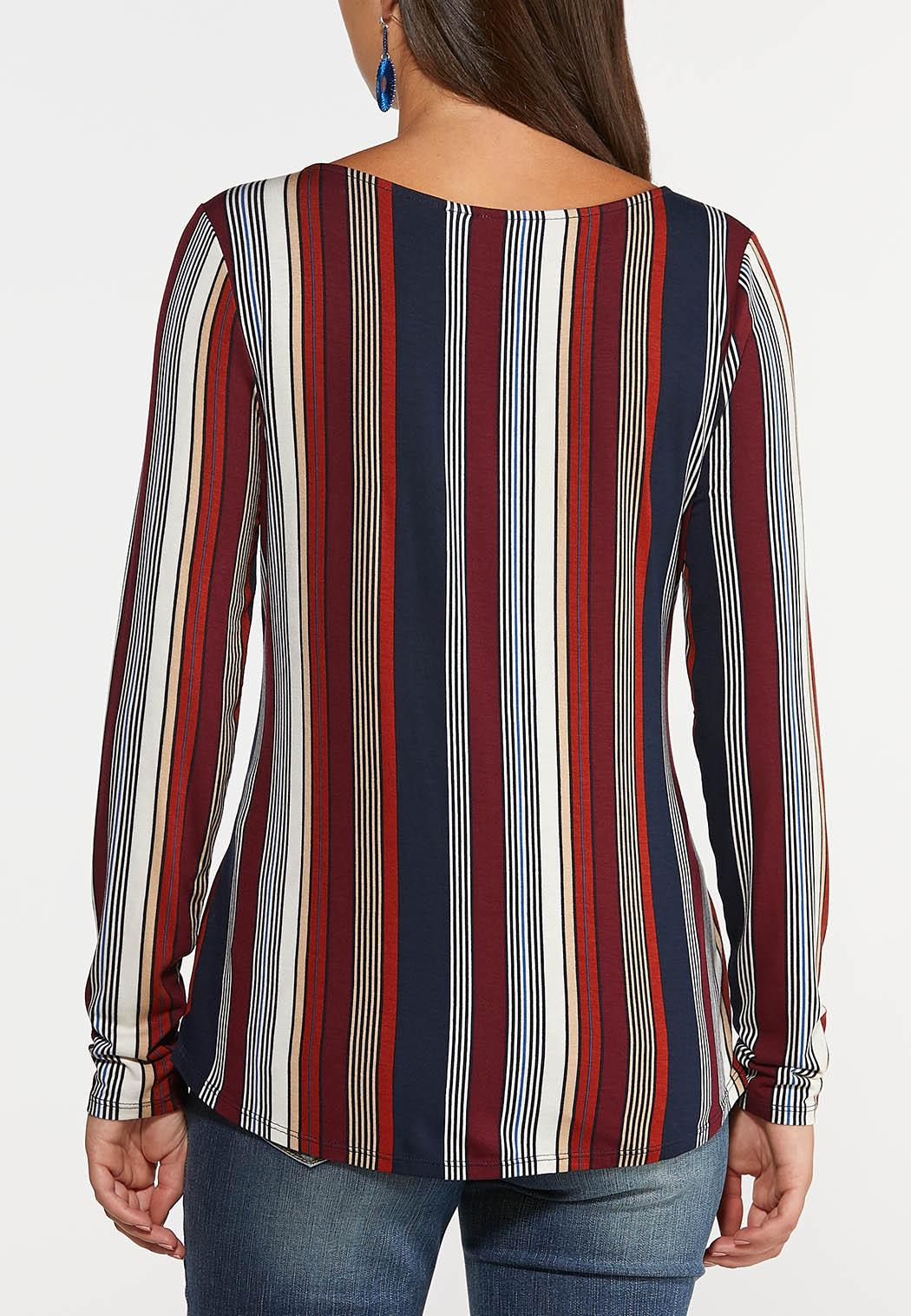 Berry Stripe Top (Item #44372222)