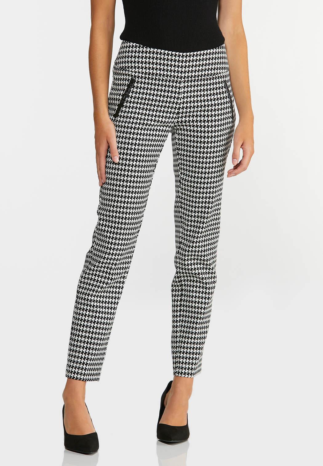 Slim Houndstooth Pants (Item #44372618)
