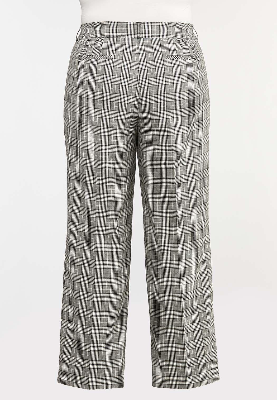 Plus Petite Plaid Trouser Pants (Item #44373847)