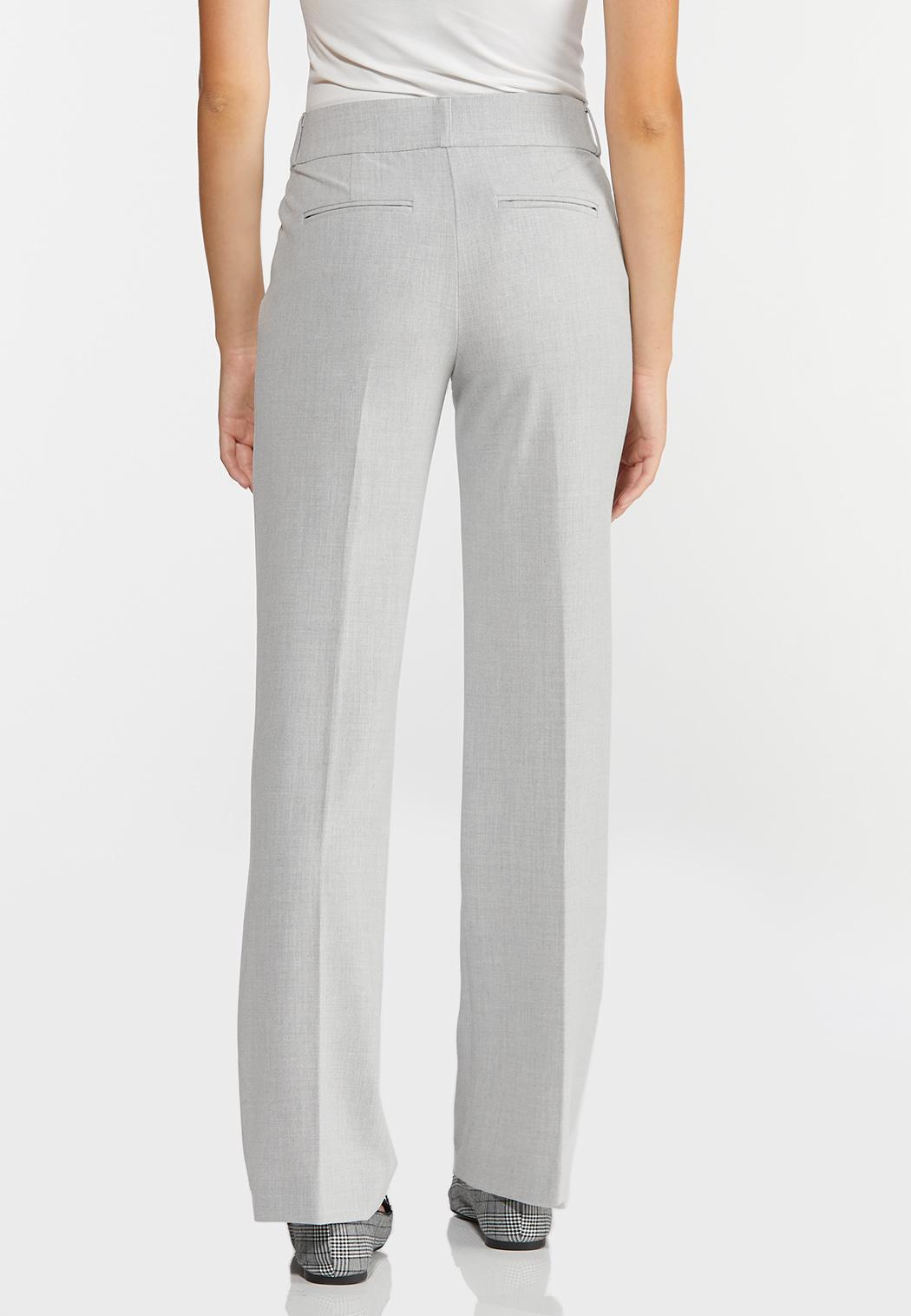 Petite Gray Trouser Pants (Item #44374179)
