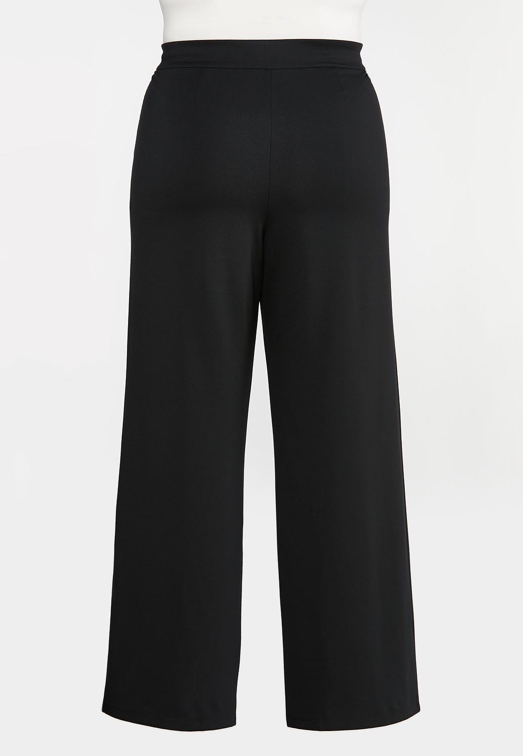 Plus Petite Ponte Tie Waist Pants (Item #44375945)