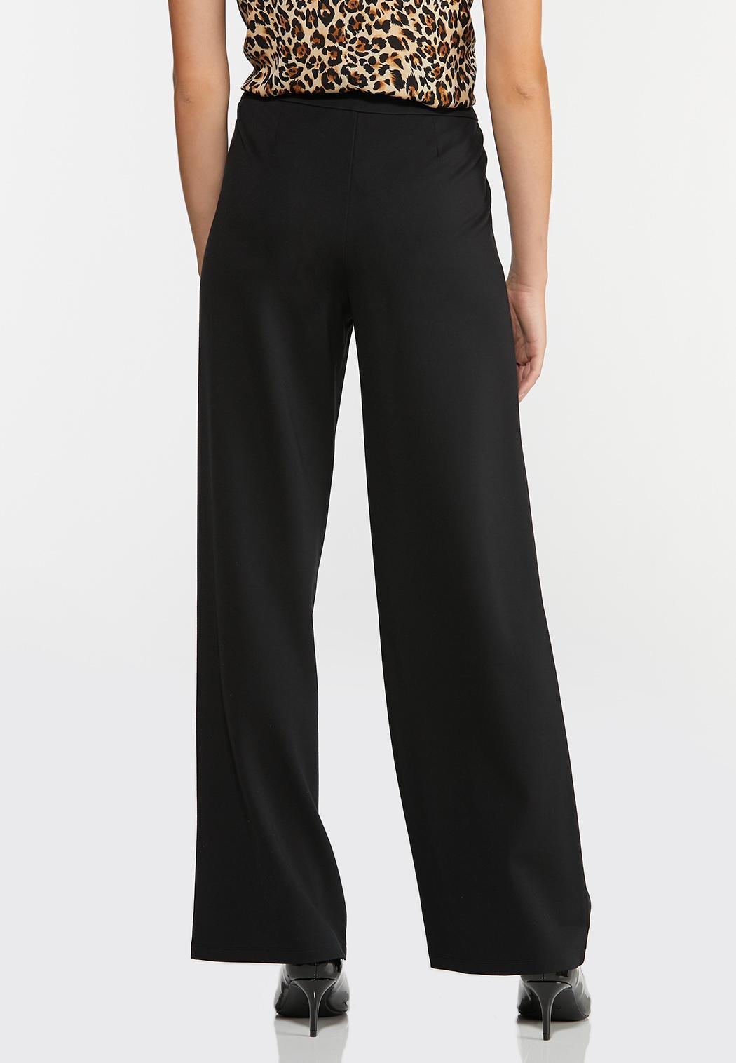 Ponte Tie Waist Pants (Item #44376842)