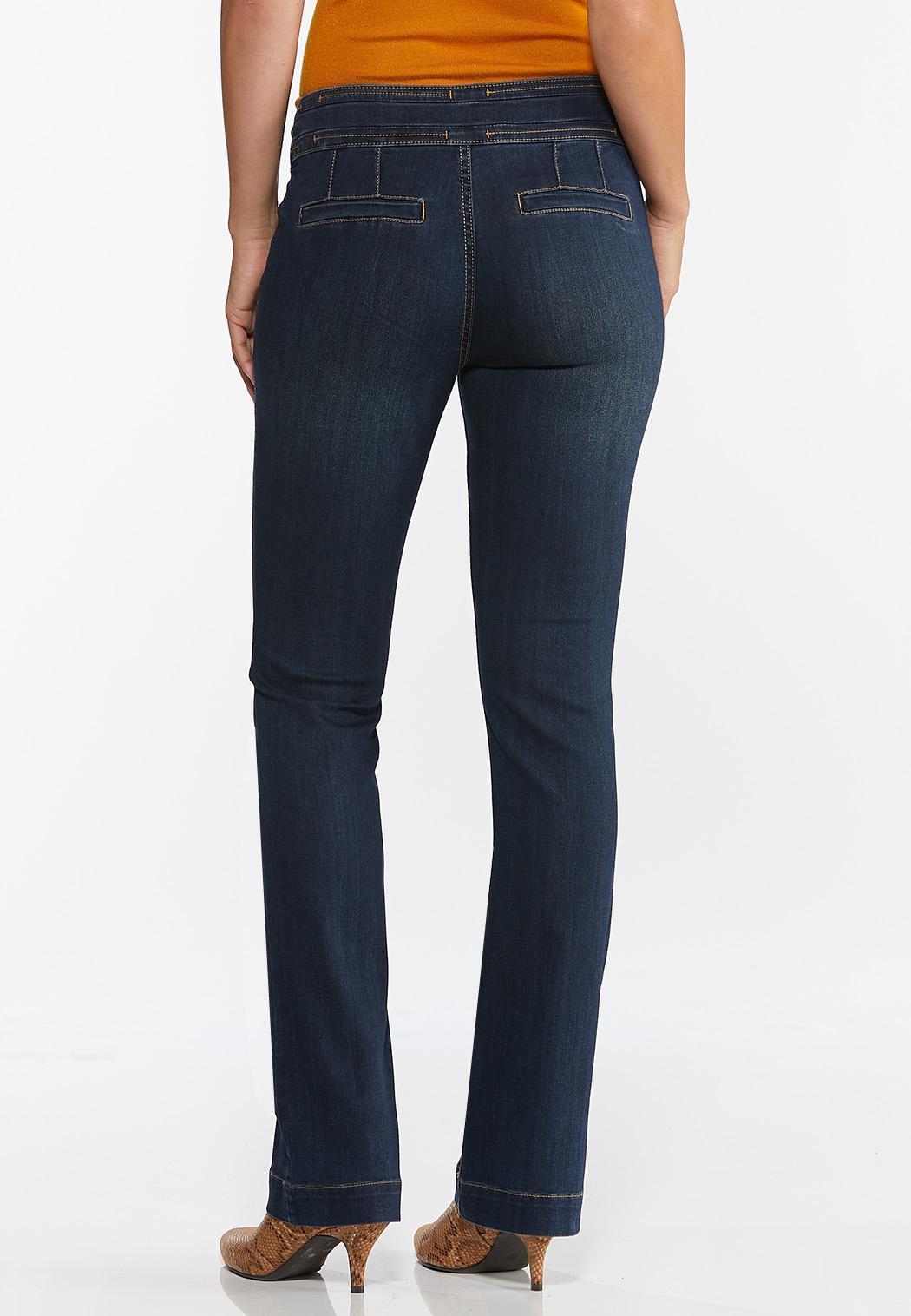 Double Button Jeans (Item #44378934)