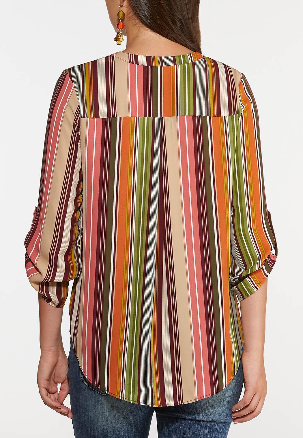 Spicy Stripe Top (Item #44379026)