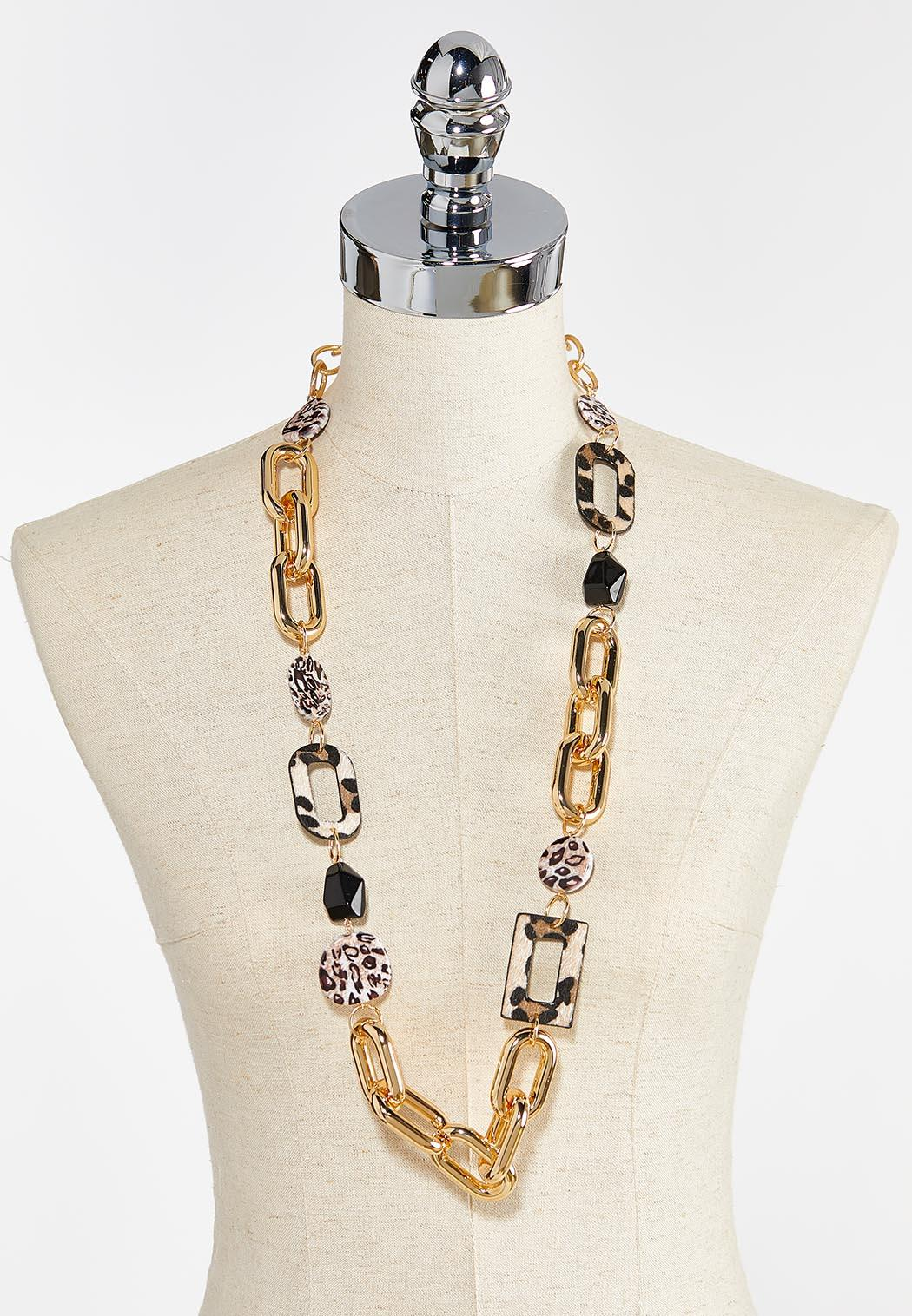 Mixed Animal Link Chain Necklace (Item #44380574)