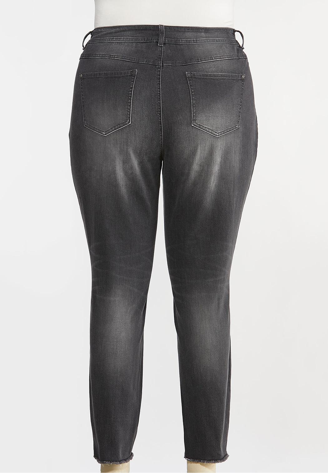Plus Size High-Rise Skinny Jeans (Item #44381206)