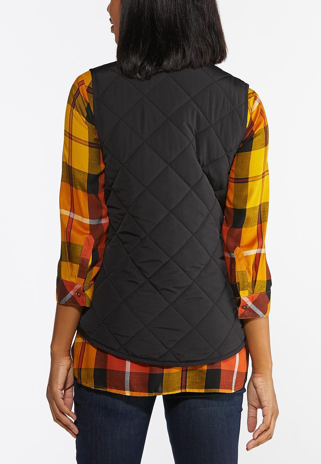 Solid Puffer Vest (Item #44381569)