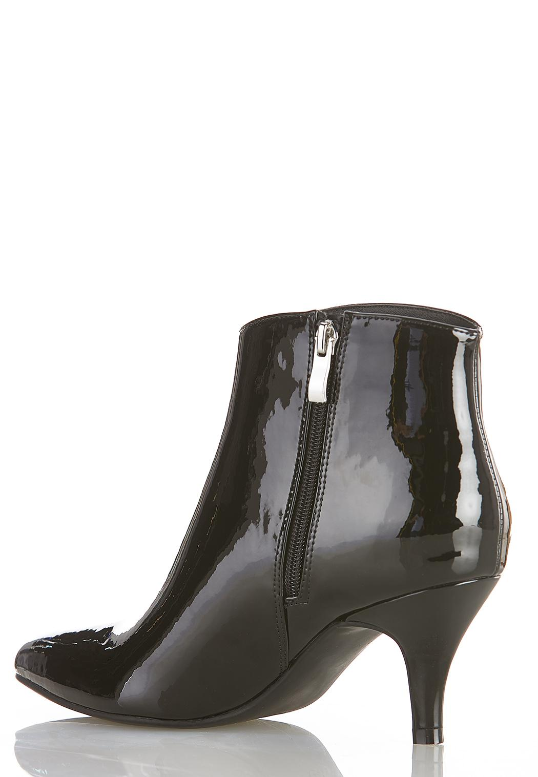 Patent Leather Booties (Item #44384130)