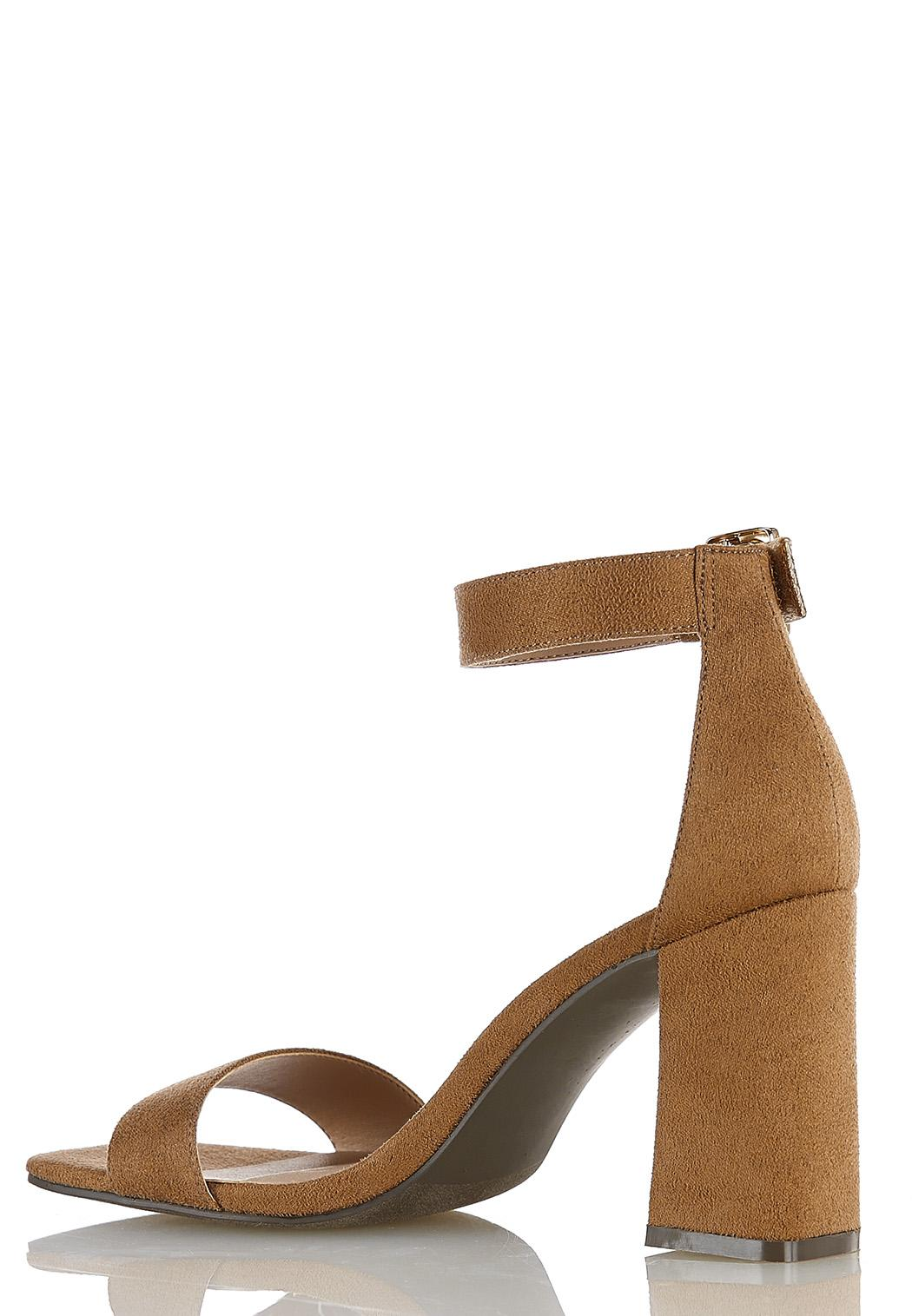 Square Toe Heeled Sandals (Item #44384308)