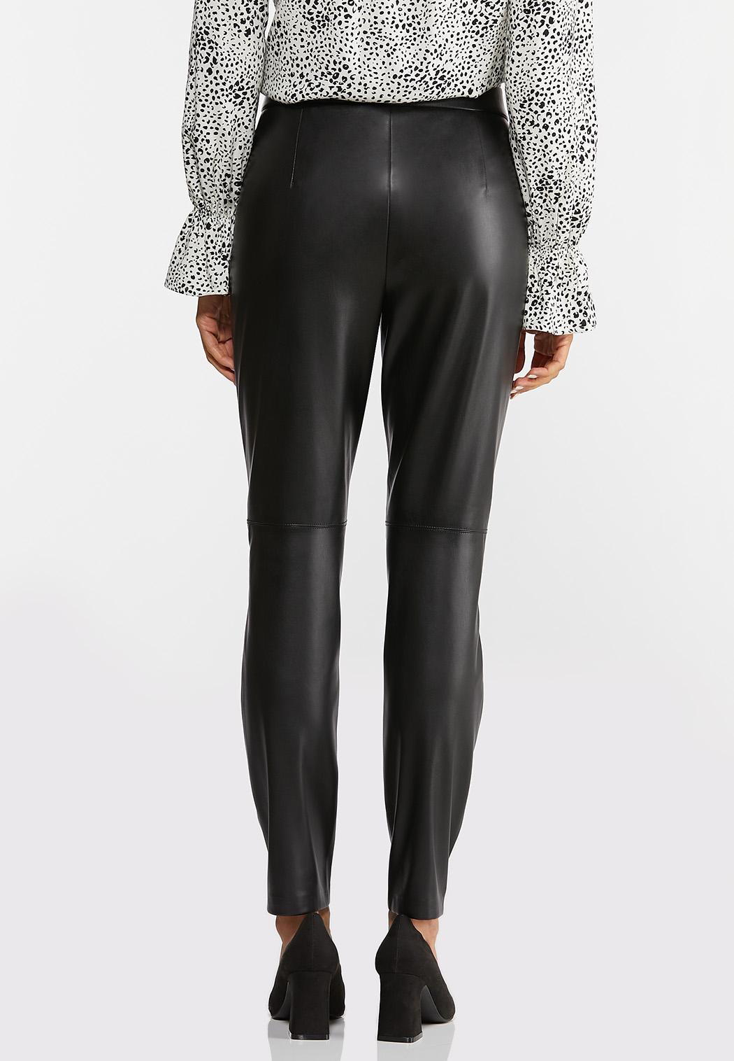 Faux Leather Leggings (Item #44384419)