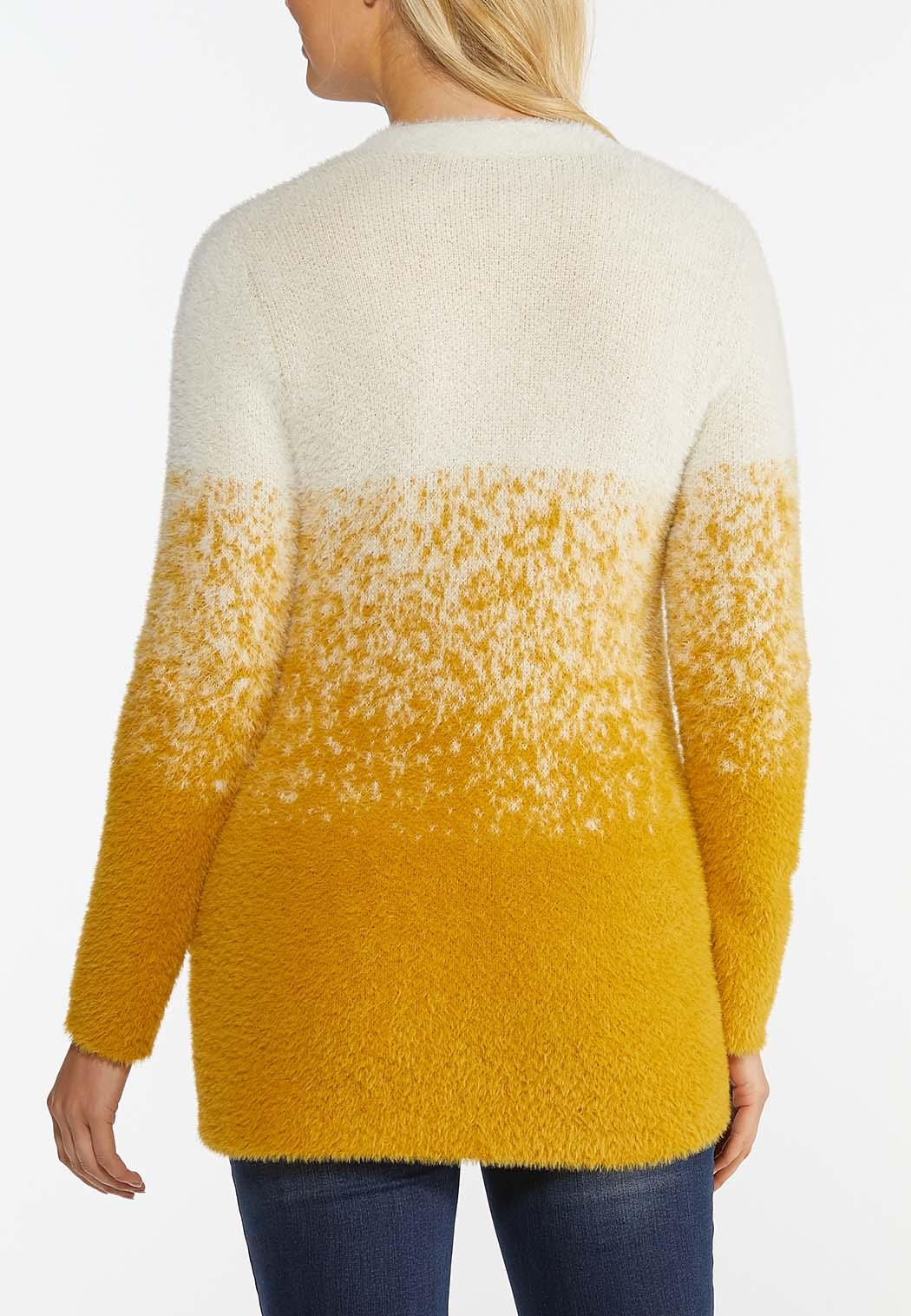 Plus Size Honey Ombre Sweater (Item #44386183)