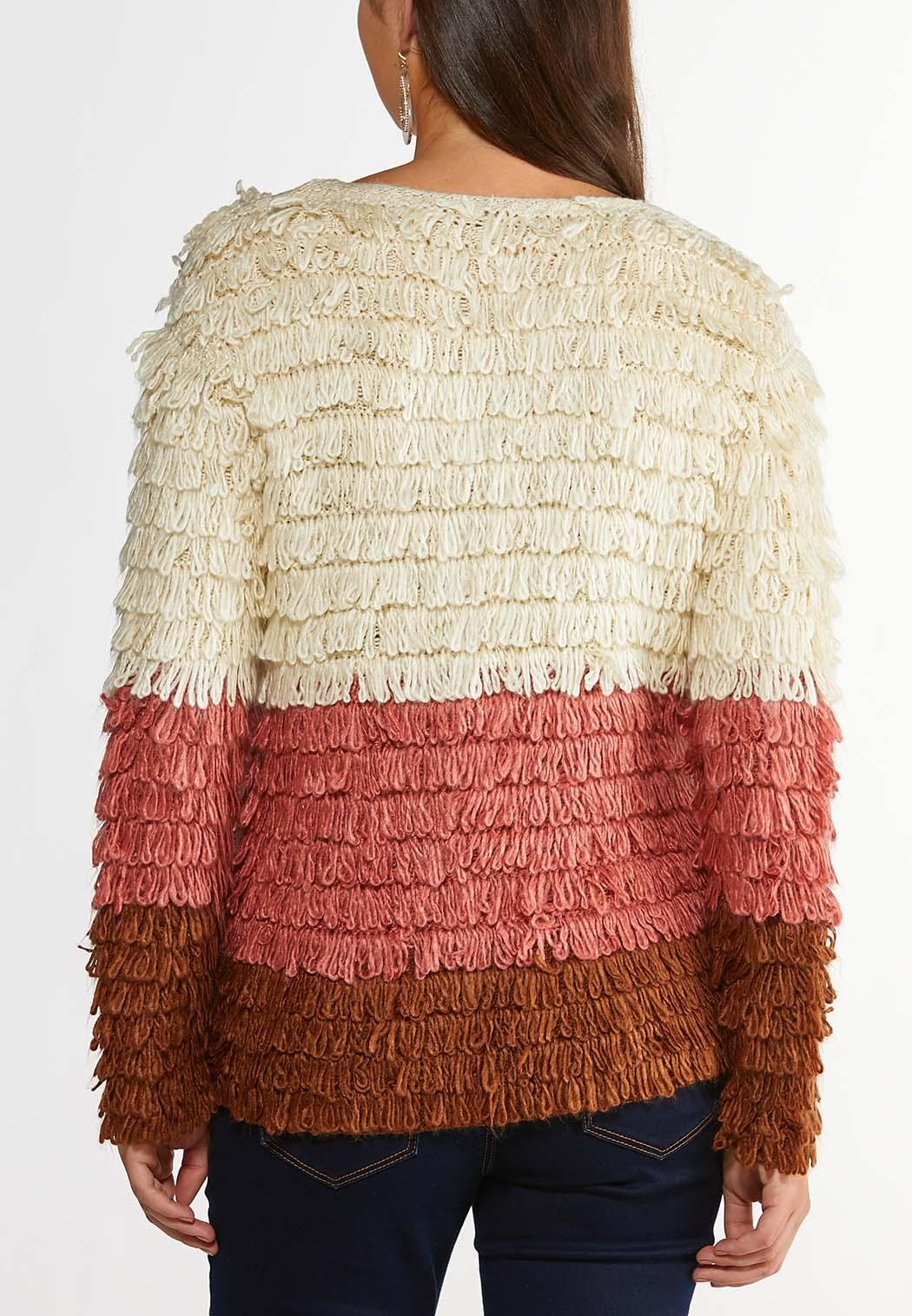 Loop Colorblock Cardigan Sweater (Item #44387129)