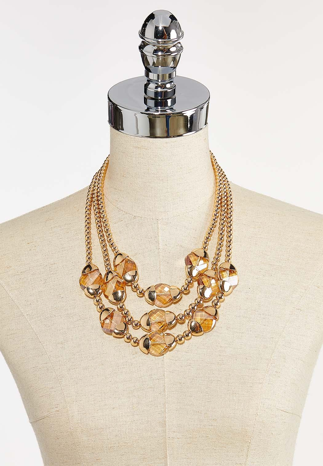 Triple Layered Necklace (Item #44387754)