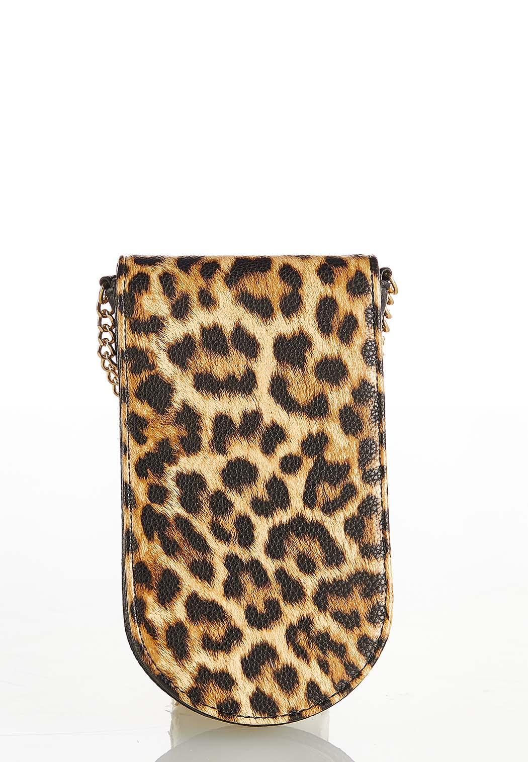 Leopard Cell Crossbody Bag (Item #44388334)