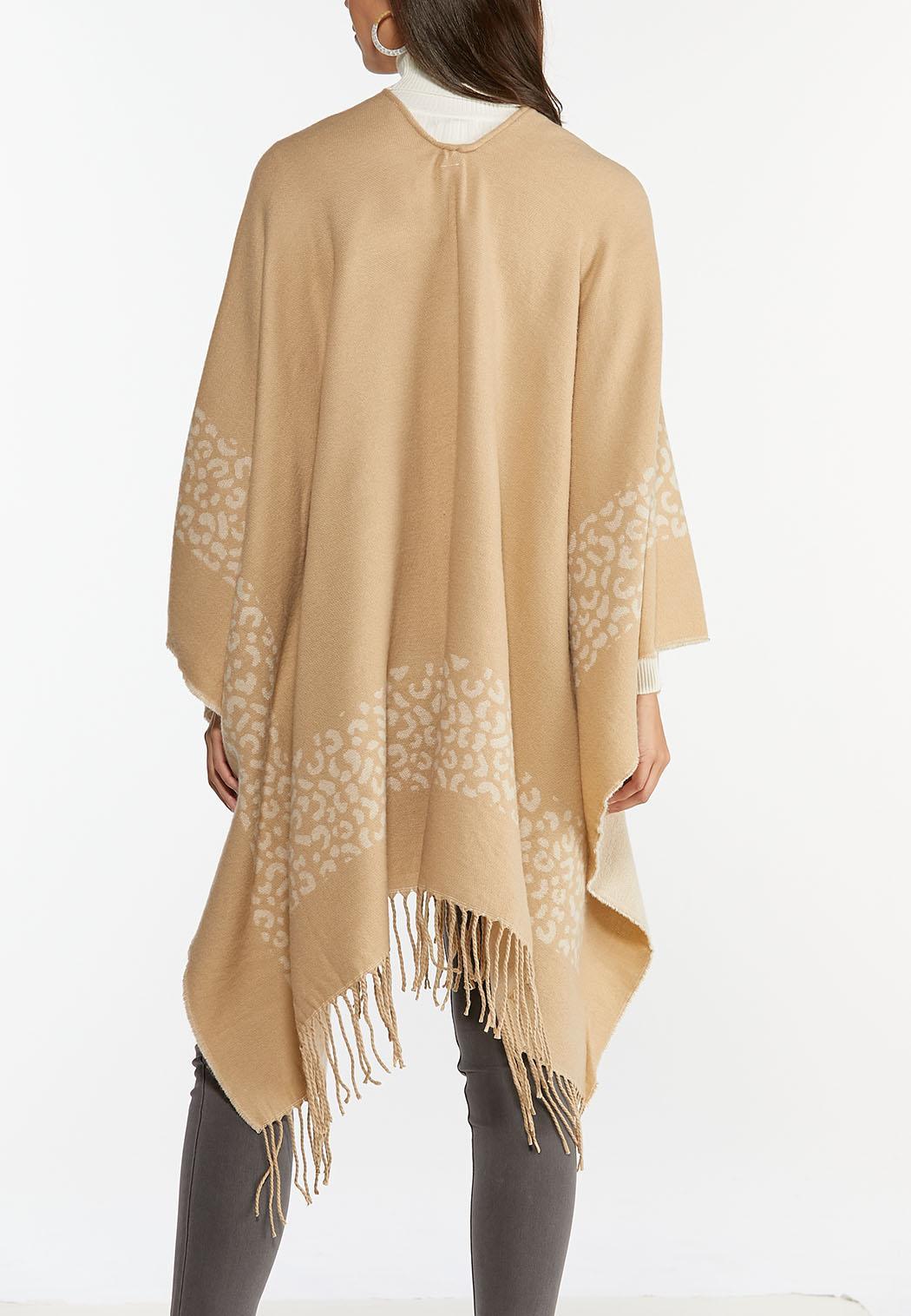 Fringed Border Sweater Wrap (Item #44388416)