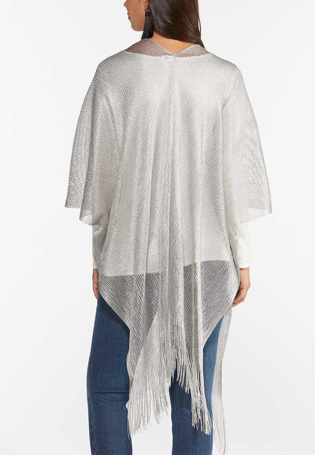 Shimmery Silver Kimono (Item #44388547)