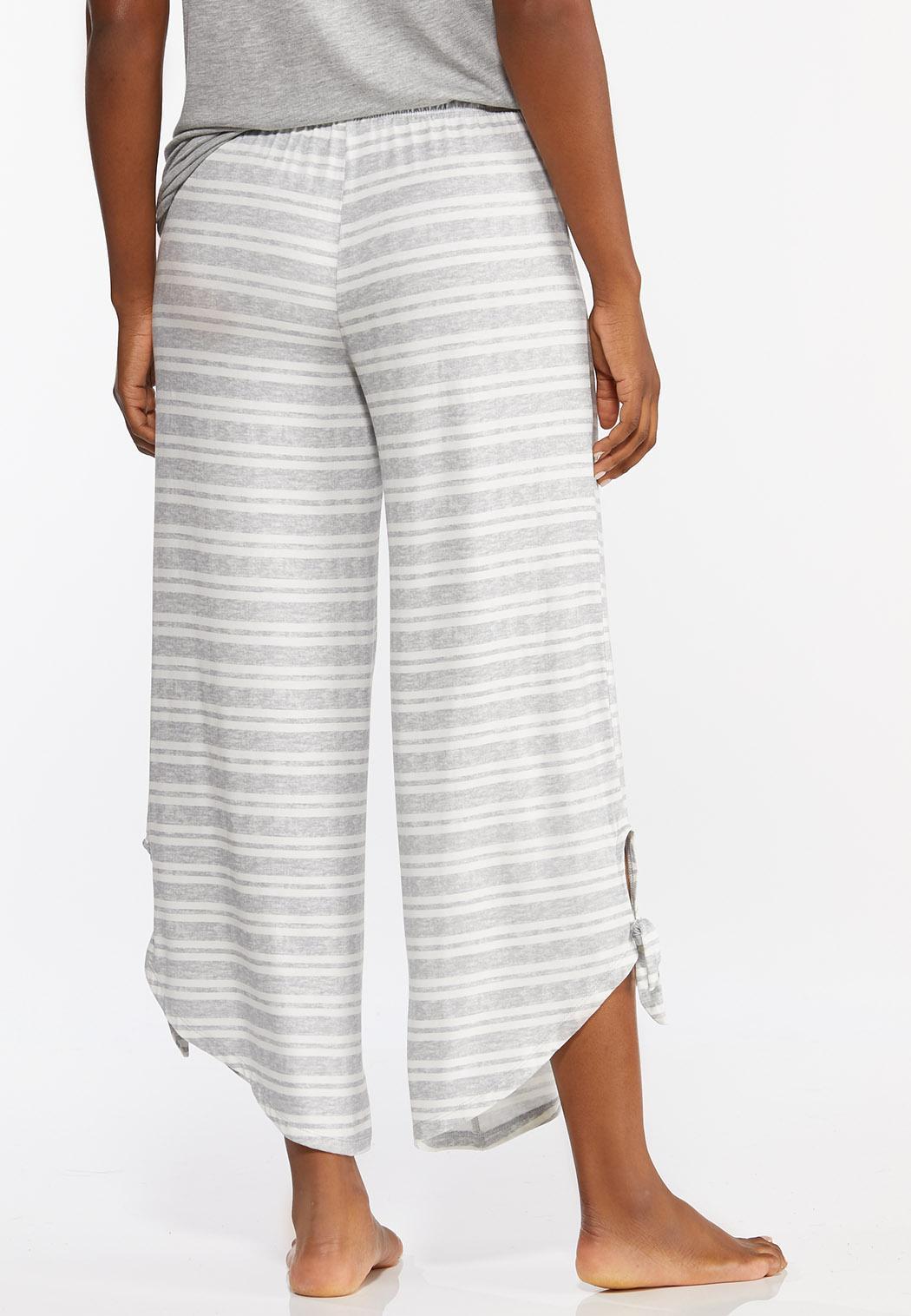 Gray Stripe Sleep Pants (Item #44391196)