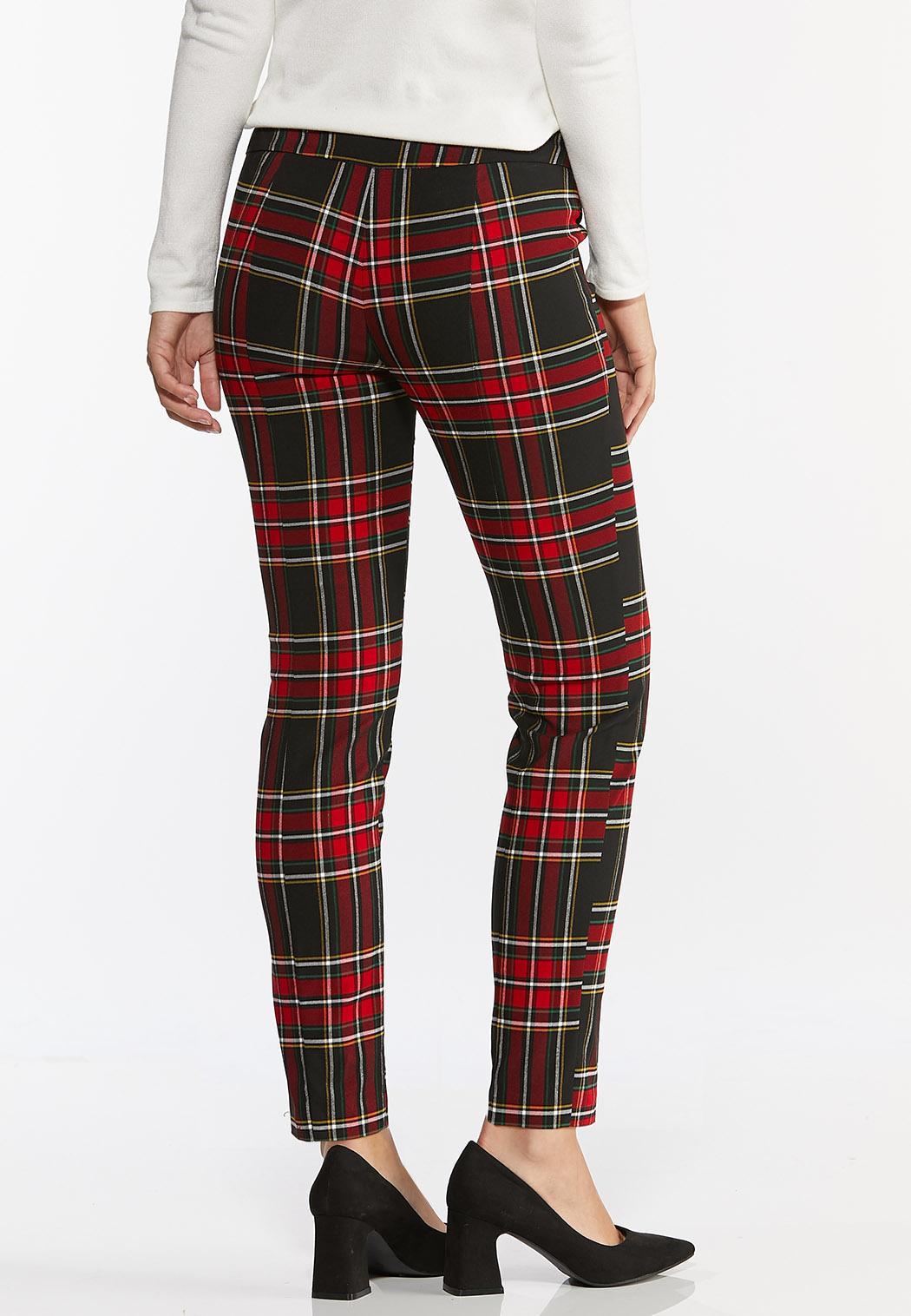 Plaid Bengaline Pants (Item #44391563)