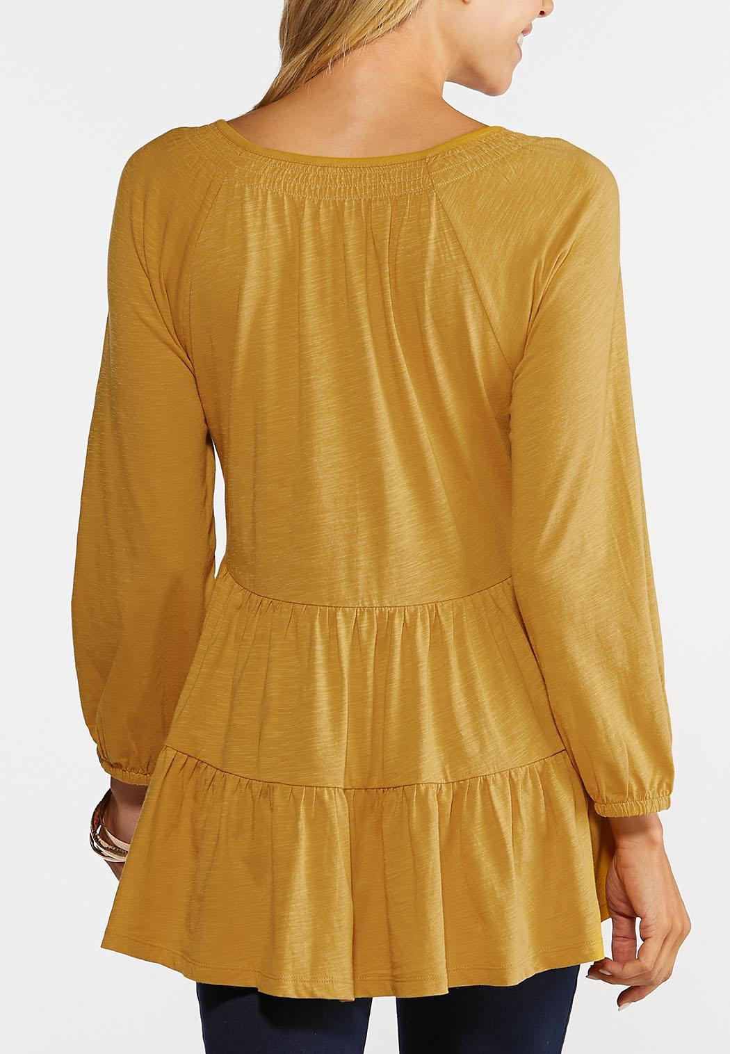 Plus Size Sunny Tiered Top (Item #44391963)