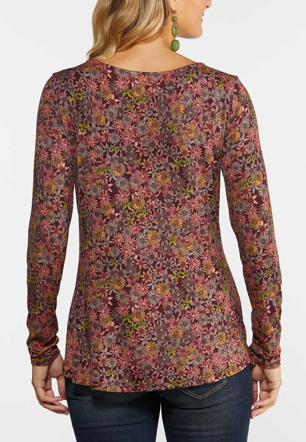 Dusty Floral Top (Item #44392775)