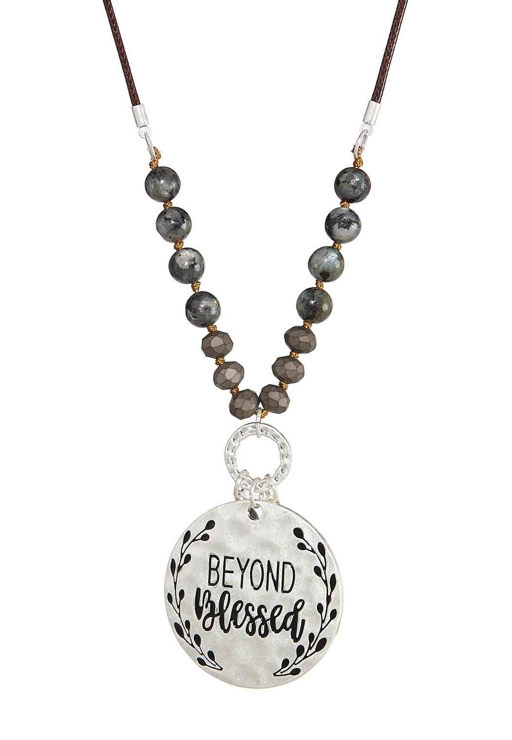 Be Blessed Pendant Necklace (Item #44393005)